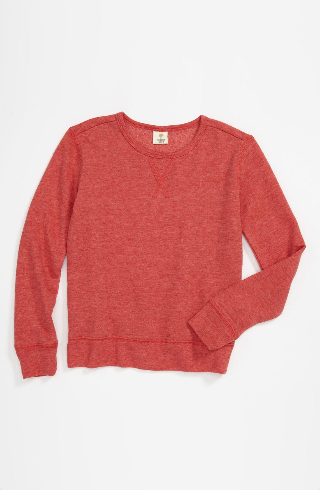 Alternate Image 1 Selected - Tucker + Tate Crewneck Sweatshirt (Little Boys)