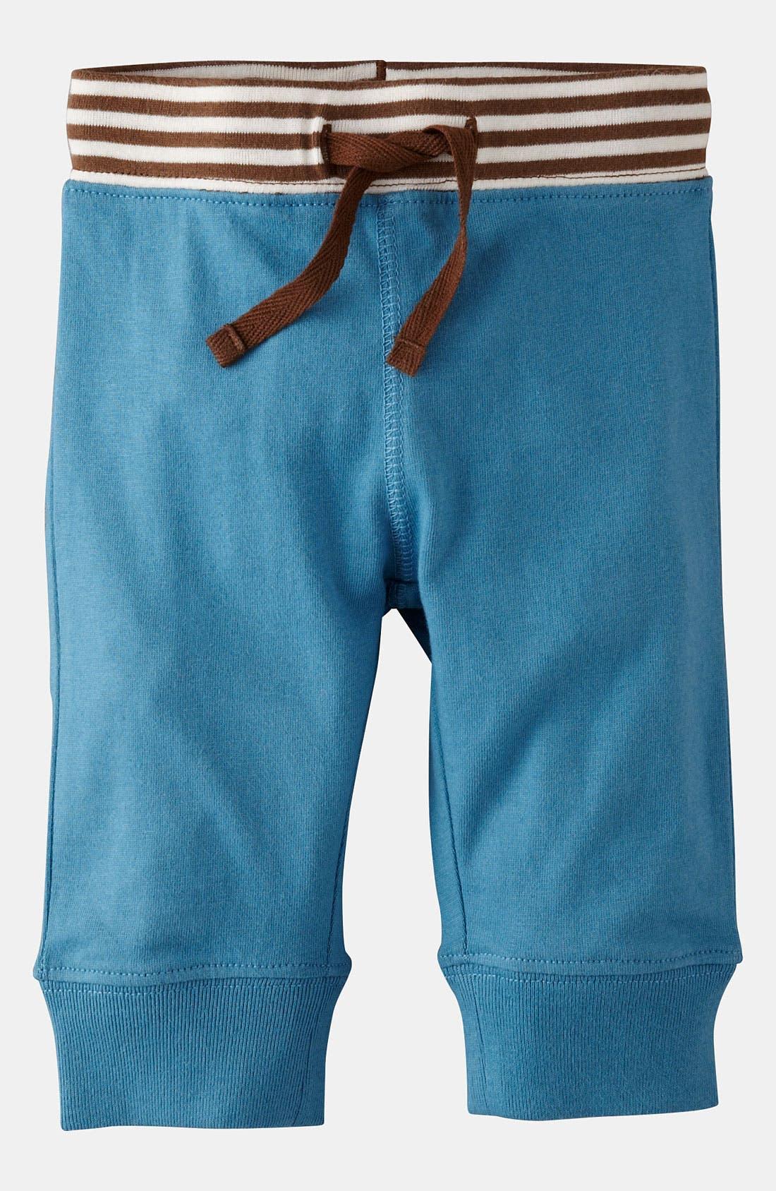 Main Image - Mini Boden 'Essential Jersey' Pants (Infant)