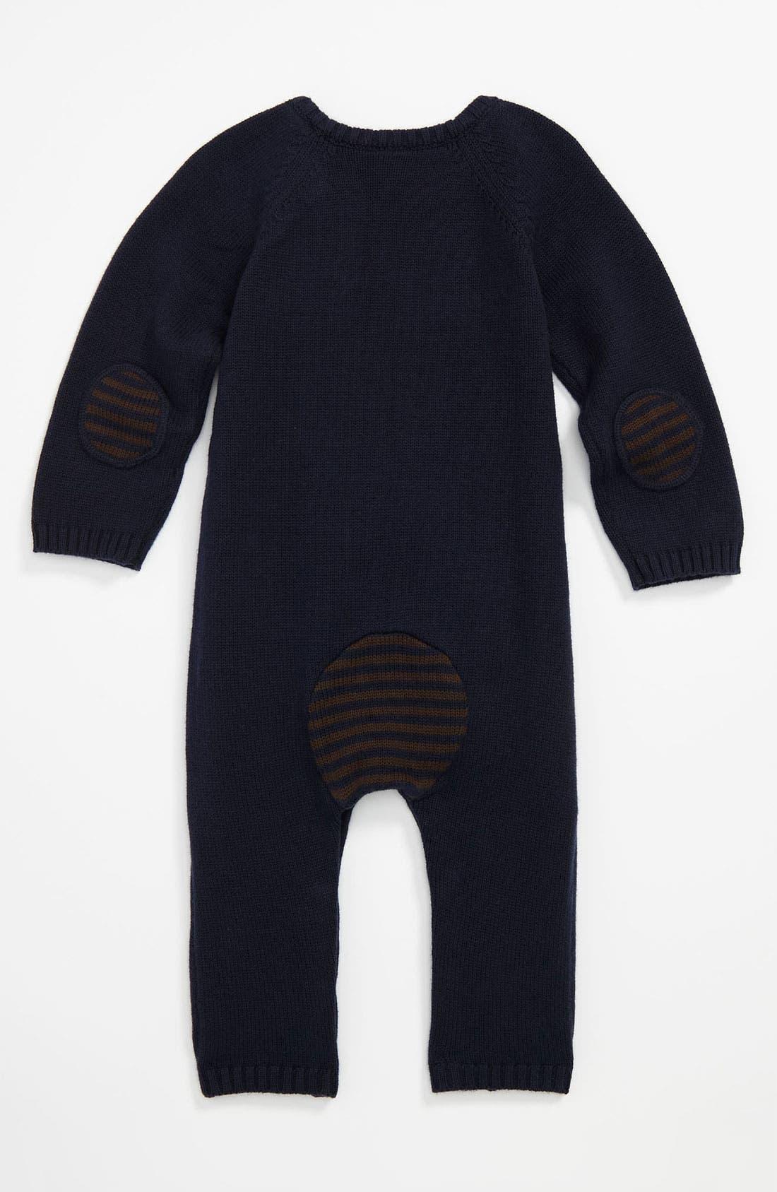 Alternate Image 2  - Nordstrom Baby Knit Romper (Infant)