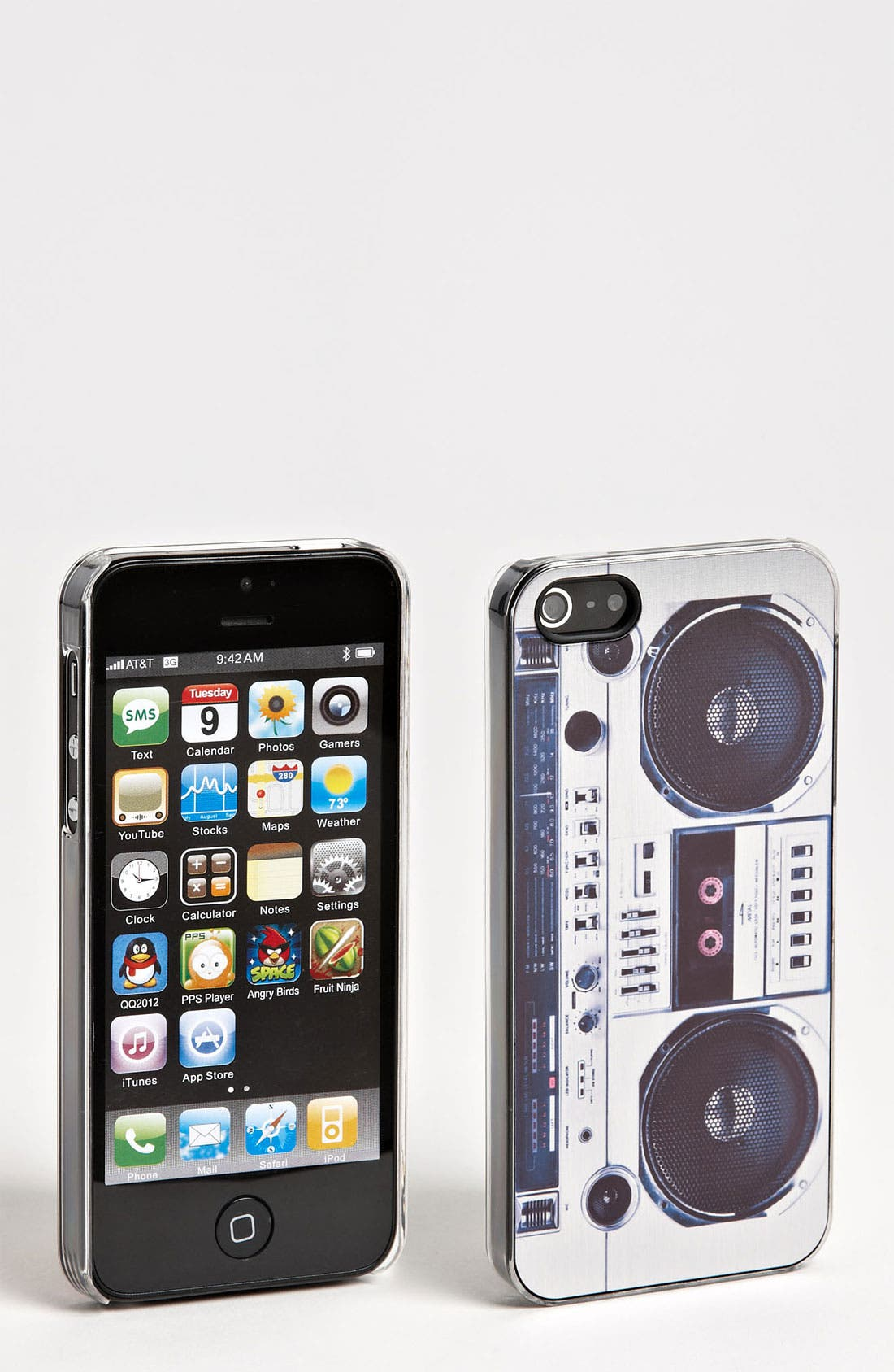 Alternate Image 1 Selected - ZERO GRAVITY 'Boombox' iPhone 5 Case
