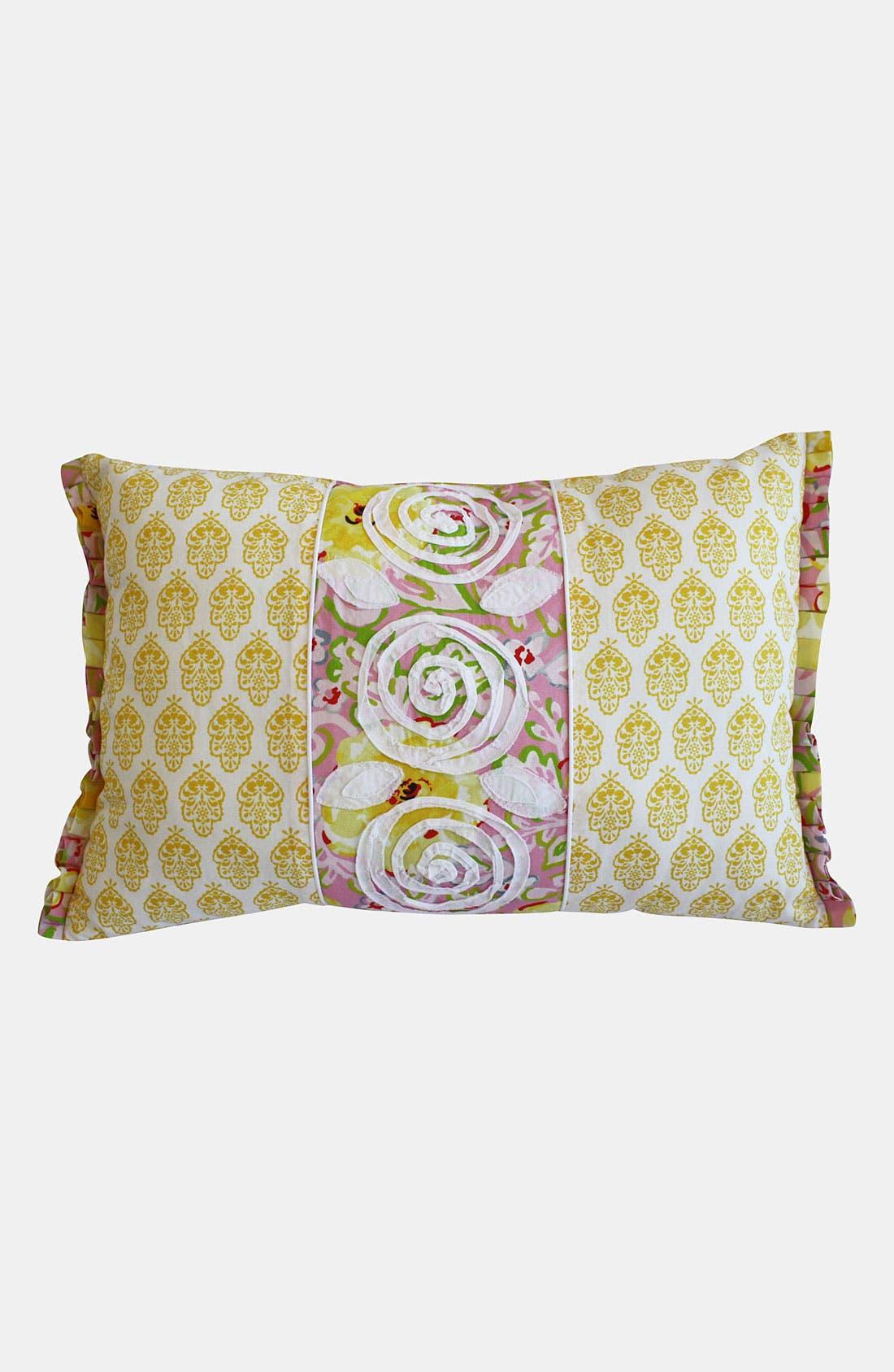 Main Image - Dena Home 'Annabelle' Appliqué Pillow