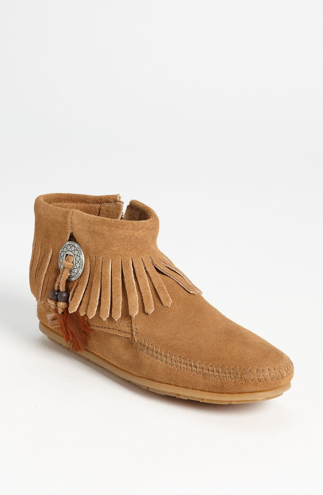 Main Image - Minnetonka 'Concho Feather' Moccasin
