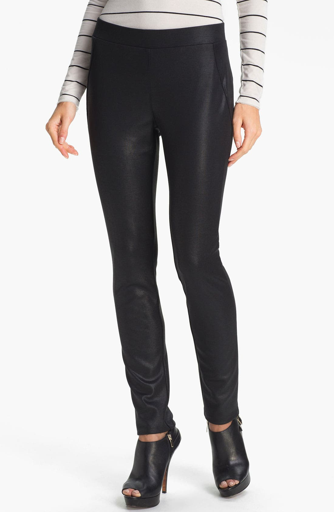 Main Image - Two by Vince Camuto Textured Leggings