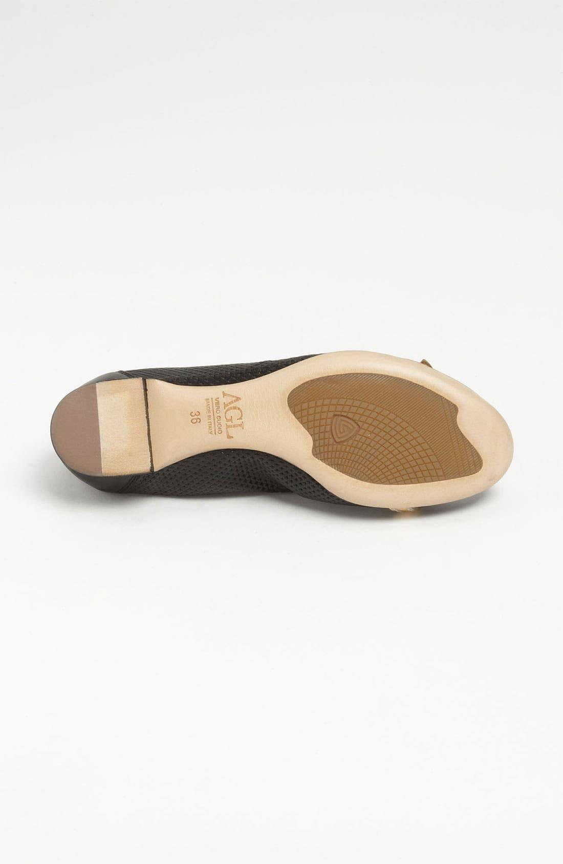 Alternate Image 4  - Attilio Giusti Leombruni Perforated Toe Cap Ballet Flat
