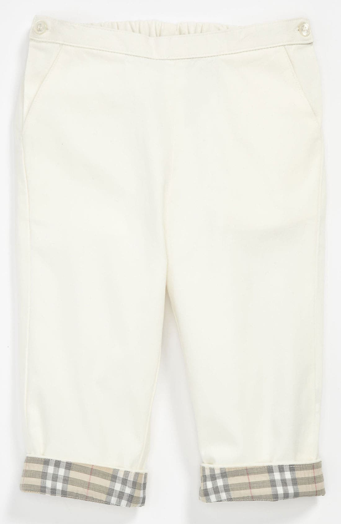 Alternate Image 1 Selected - Burberry 'Paddy' Trousers (Baby)
