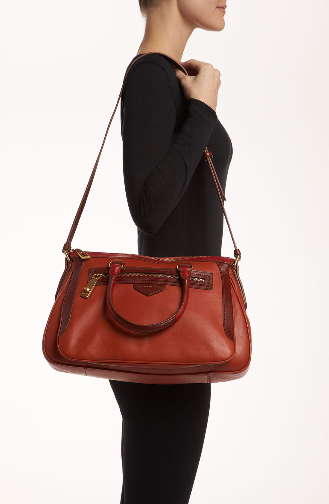 Alternate Image 2  - MARC BY MARC JACOBS 'The Ziplocker - Lo' Leather Satchel