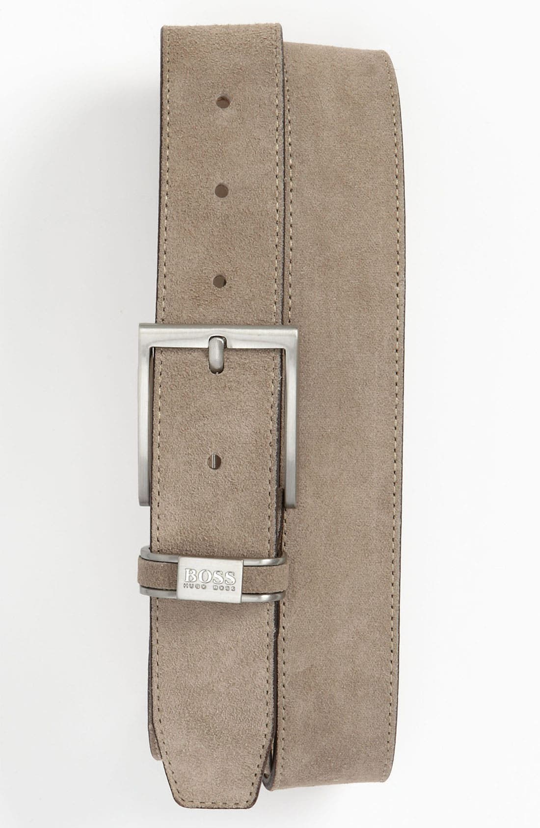 Main Image - BOSS Black 'Settimo' Leather Belt