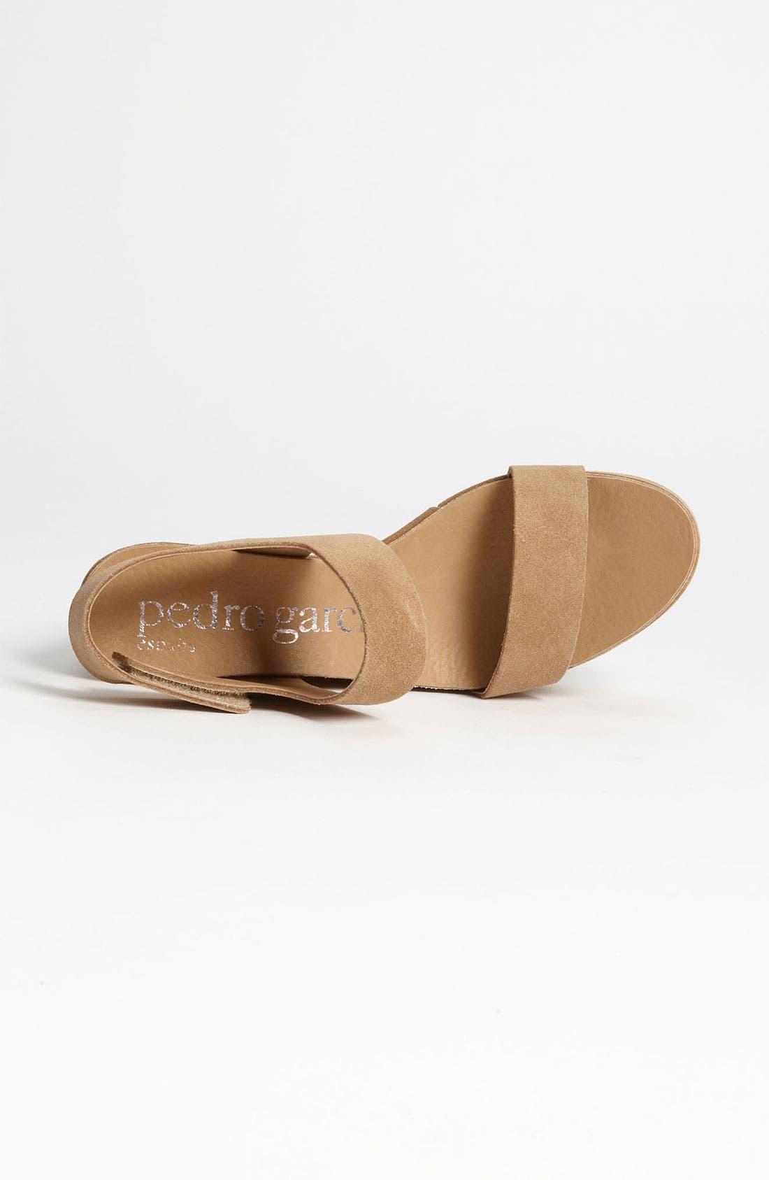 Alternate Image 3  - Pedro Garcia 'Dakota' Wedge Sandal (Exclusive Color)