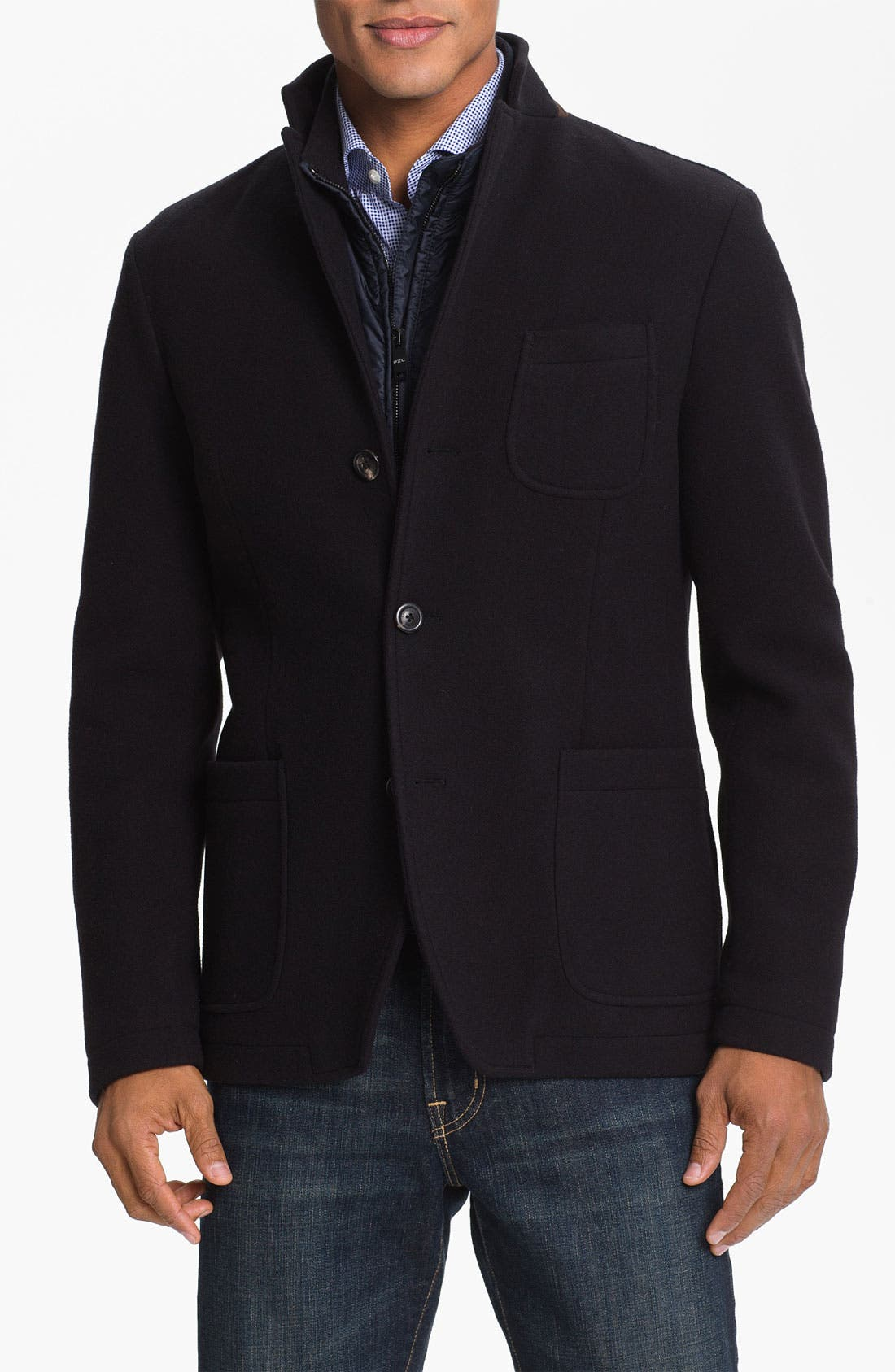 Alternate Image 1 Selected - Pal Zileri Wool Blend Jacket