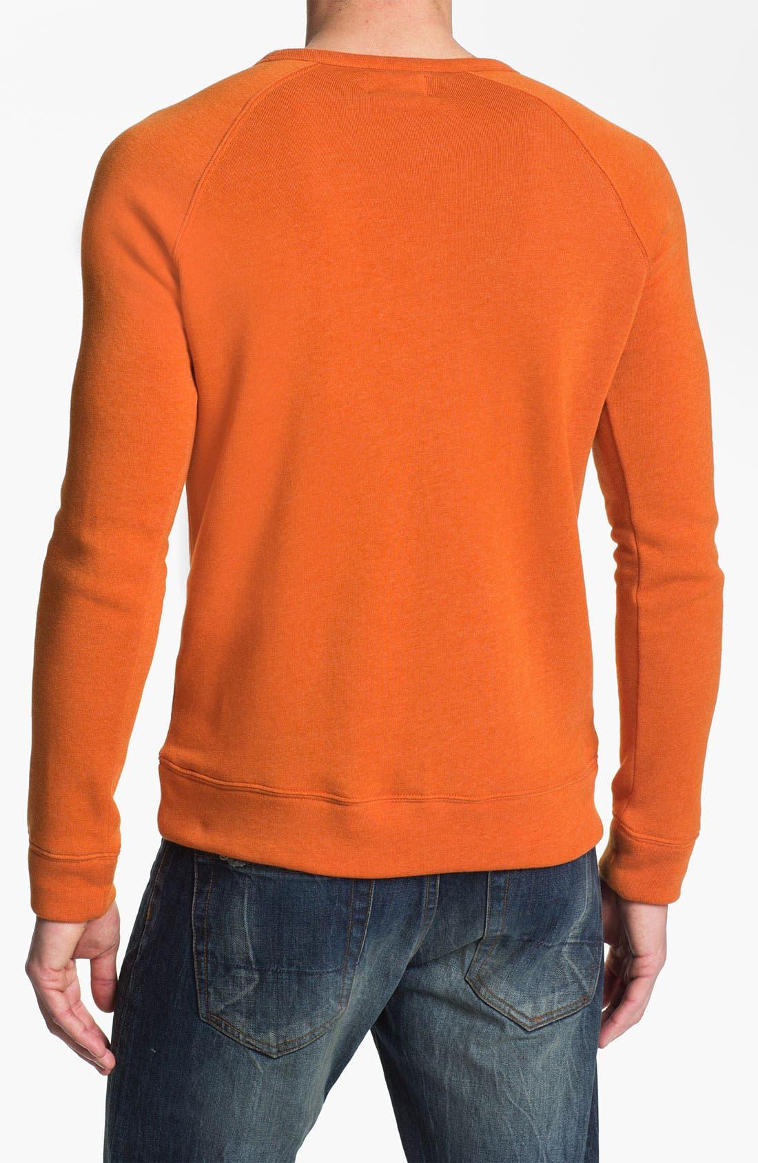 Lofty Creature Comforts Crewneck Sweatshirt,                             Alternate thumbnail 2, color,                             Apricot
