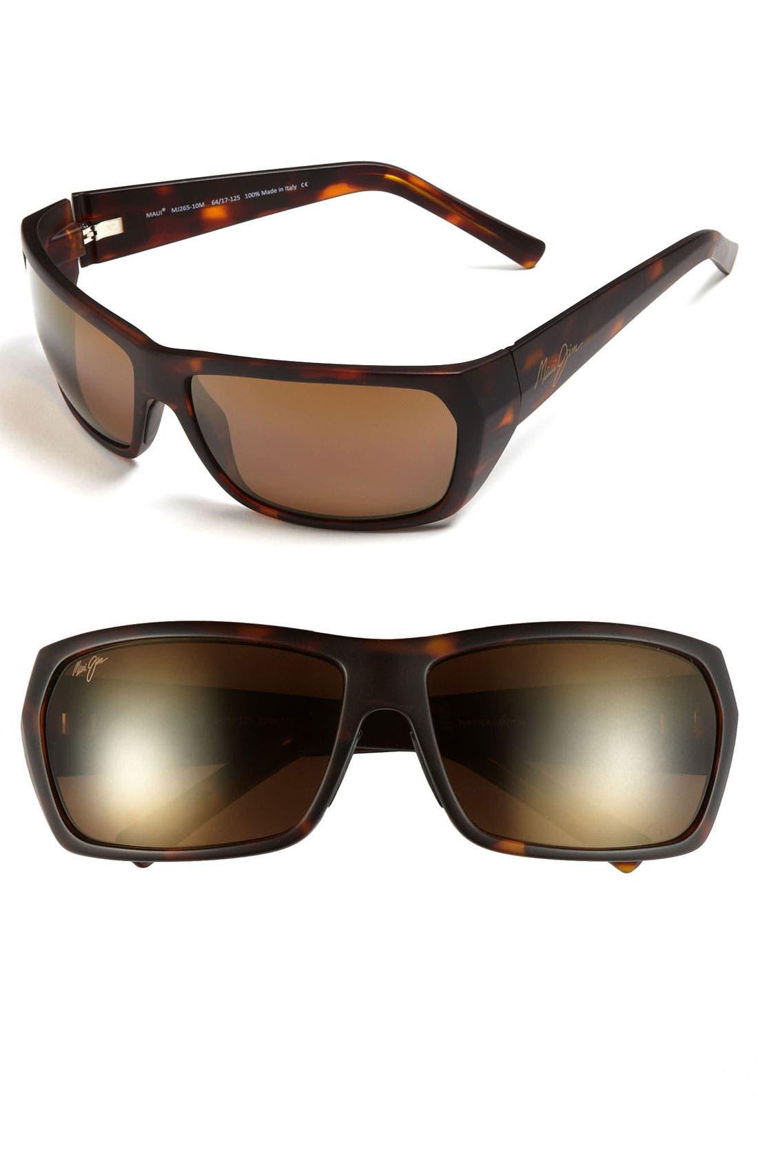 Main Image - Maui Jim 'Waimea Canyon - PolarizedPlus®2' 64mm Sunglasses