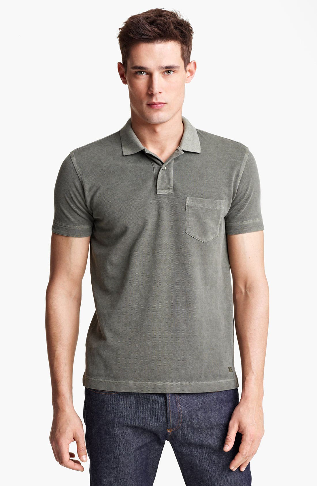 Alternate Image 1 Selected - Zegna Sport Regular Fit Polo