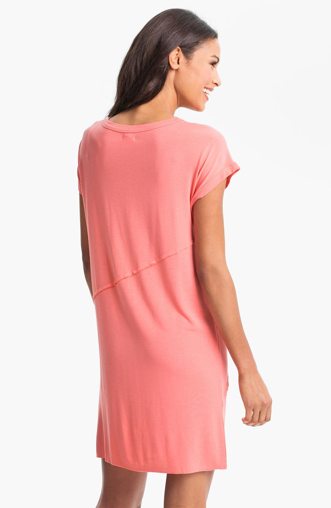 Alternate Image 2  - DKNY 'Sugar Rush' Tuck Detail Sleep Shirt