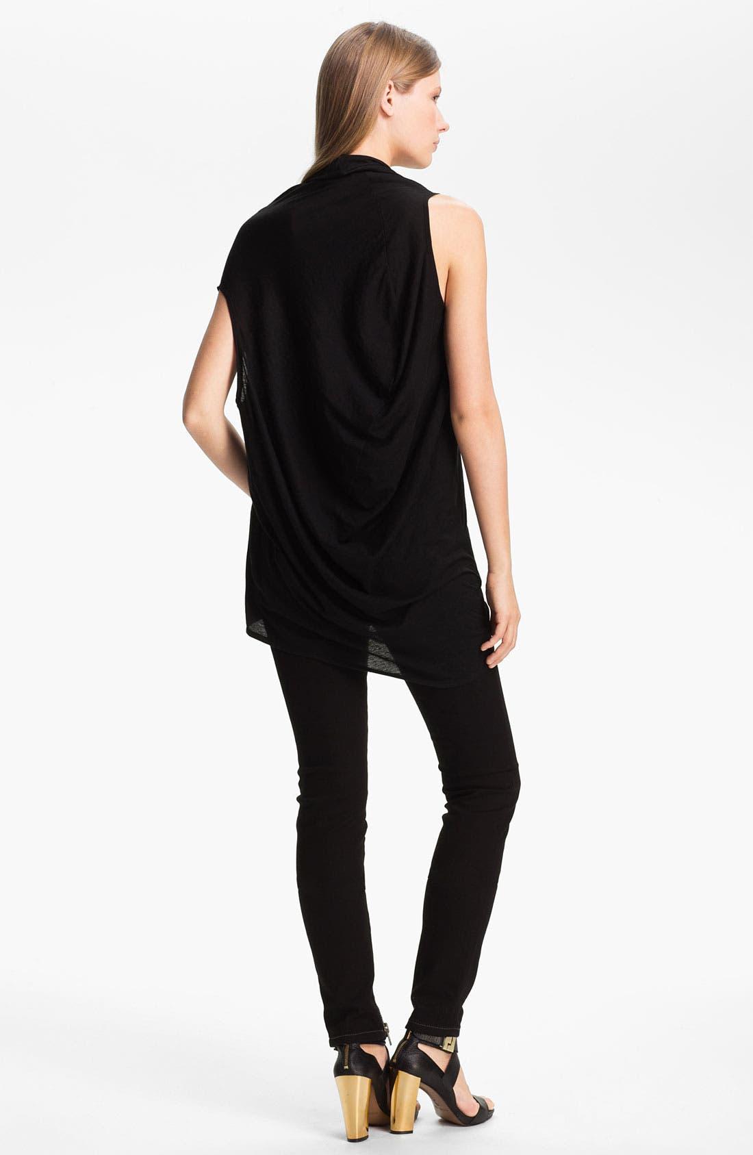 Alternate Image 2  - Rachel Zoe 'Denise' Asymmetrical Cotton Top