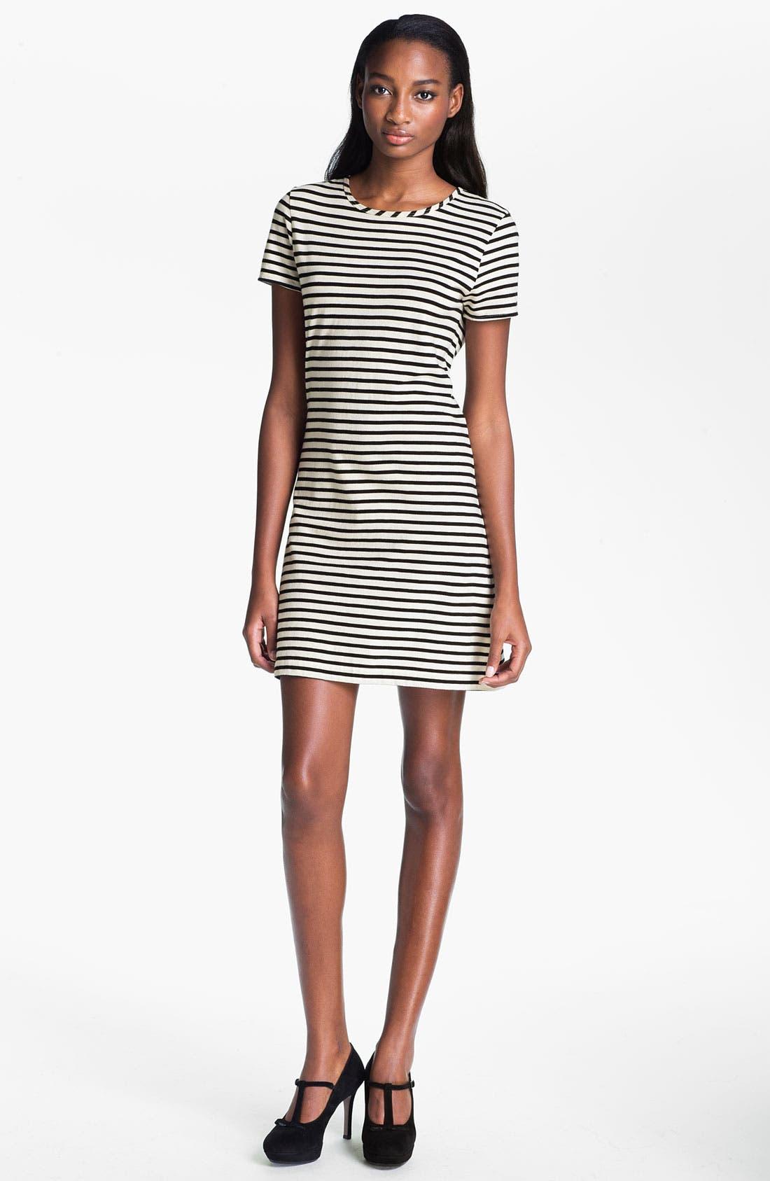 Main Image - Skaist-Taylor Stripe Cotton T-Shirt Dress