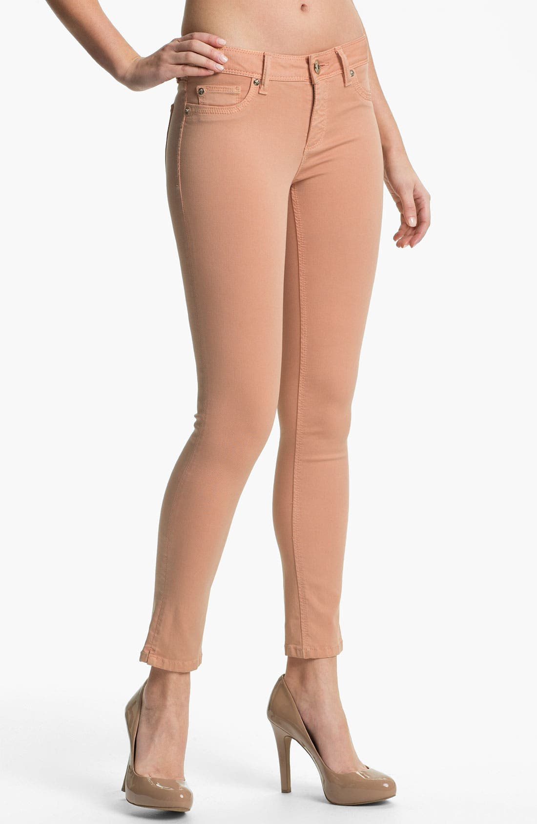 Main Image - DL1961 'Angel' X-Fit Stretch Denim Skinny Ankle Jeans (Nice)