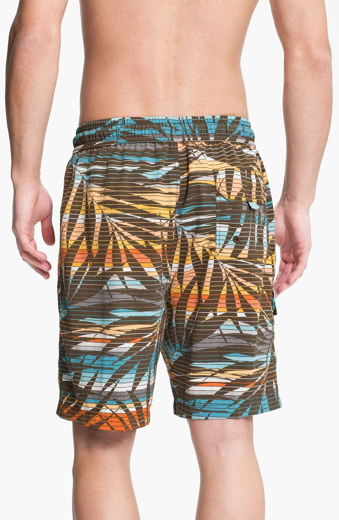 Alternate Image 2  - Tommy Bahama 'Fern Baby Fern' Swim Trunks (Big & Tall) (Online Only)
