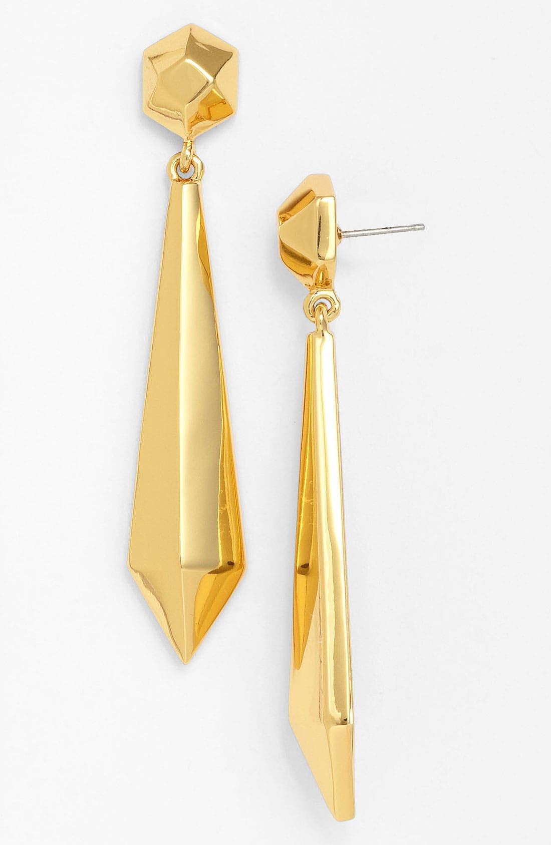 Alternate Image 1 Selected - Vince Camuto 'Clean Slate' Linear Earrings