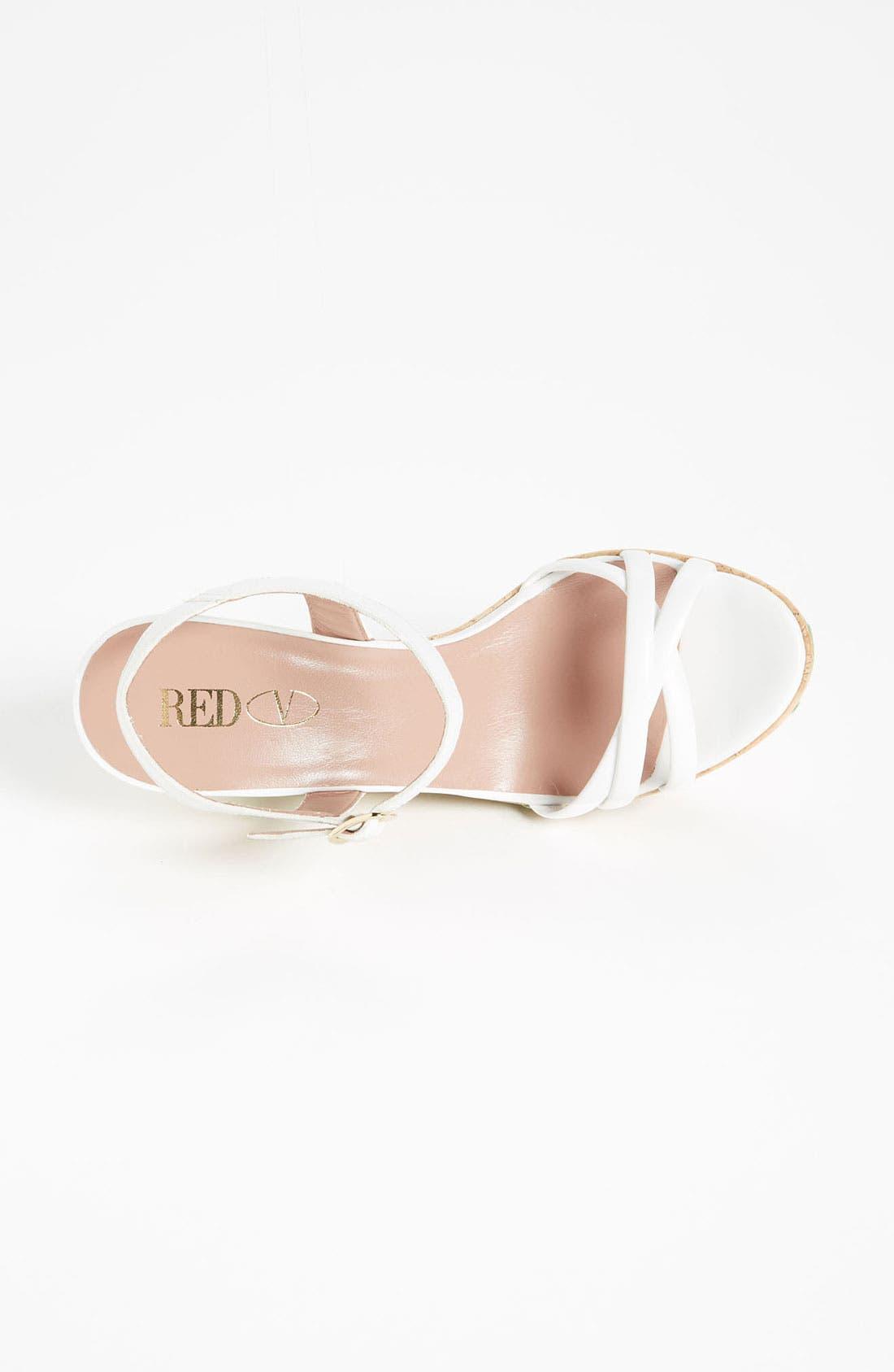 Alternate Image 3  - RED Valentino 'Daisy' Wedge Sandal