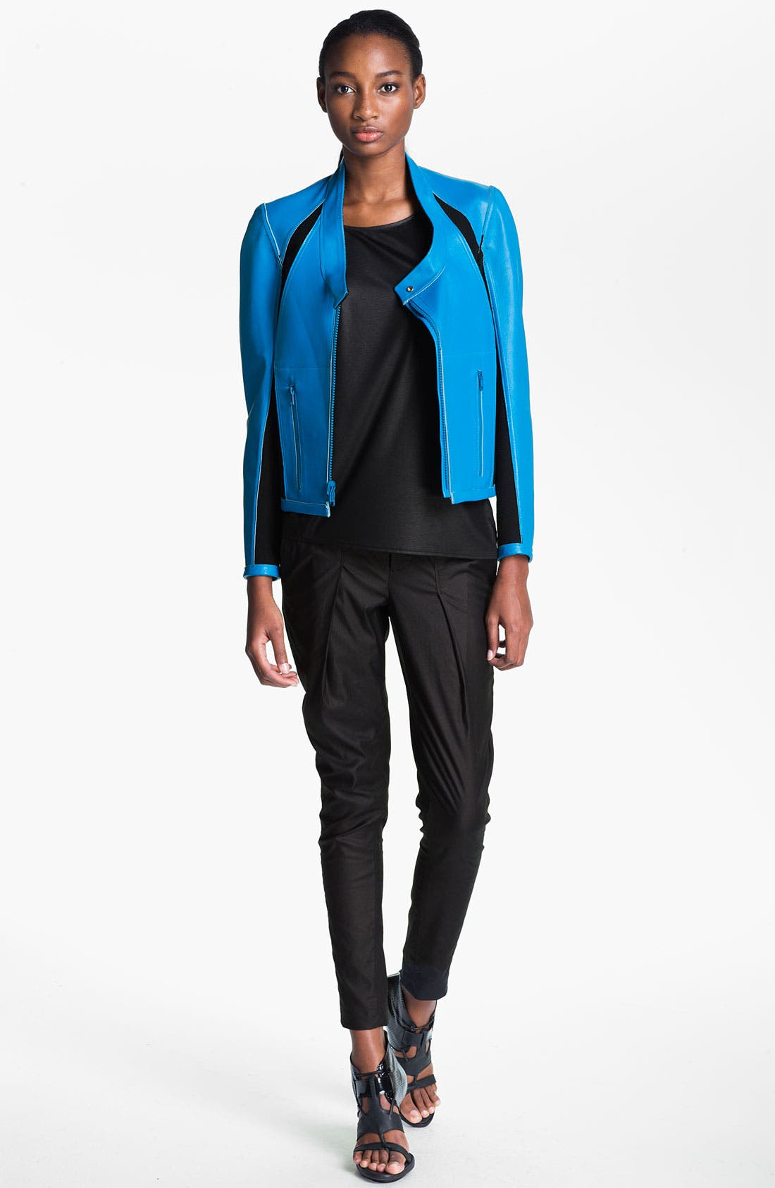 Alternate Image 1 Selected - Helmut Lang Reversible Leather Jacket