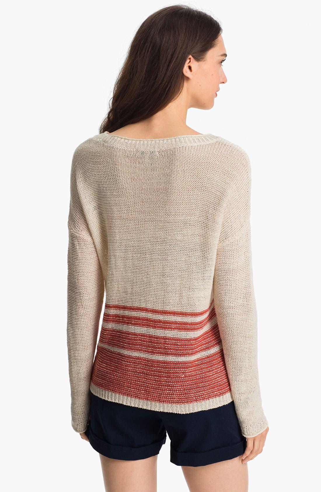Alternate Image 2  - Joie 'Darcelle' Linen Sweater