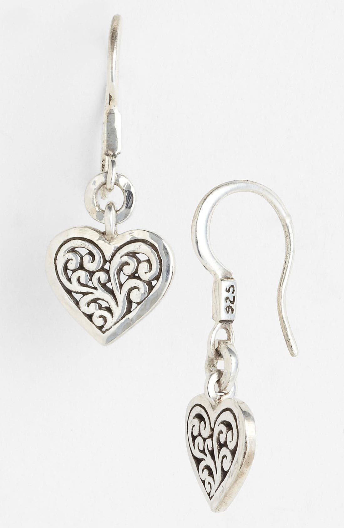 Main Image - Lois Hill Heart Drop Earrings