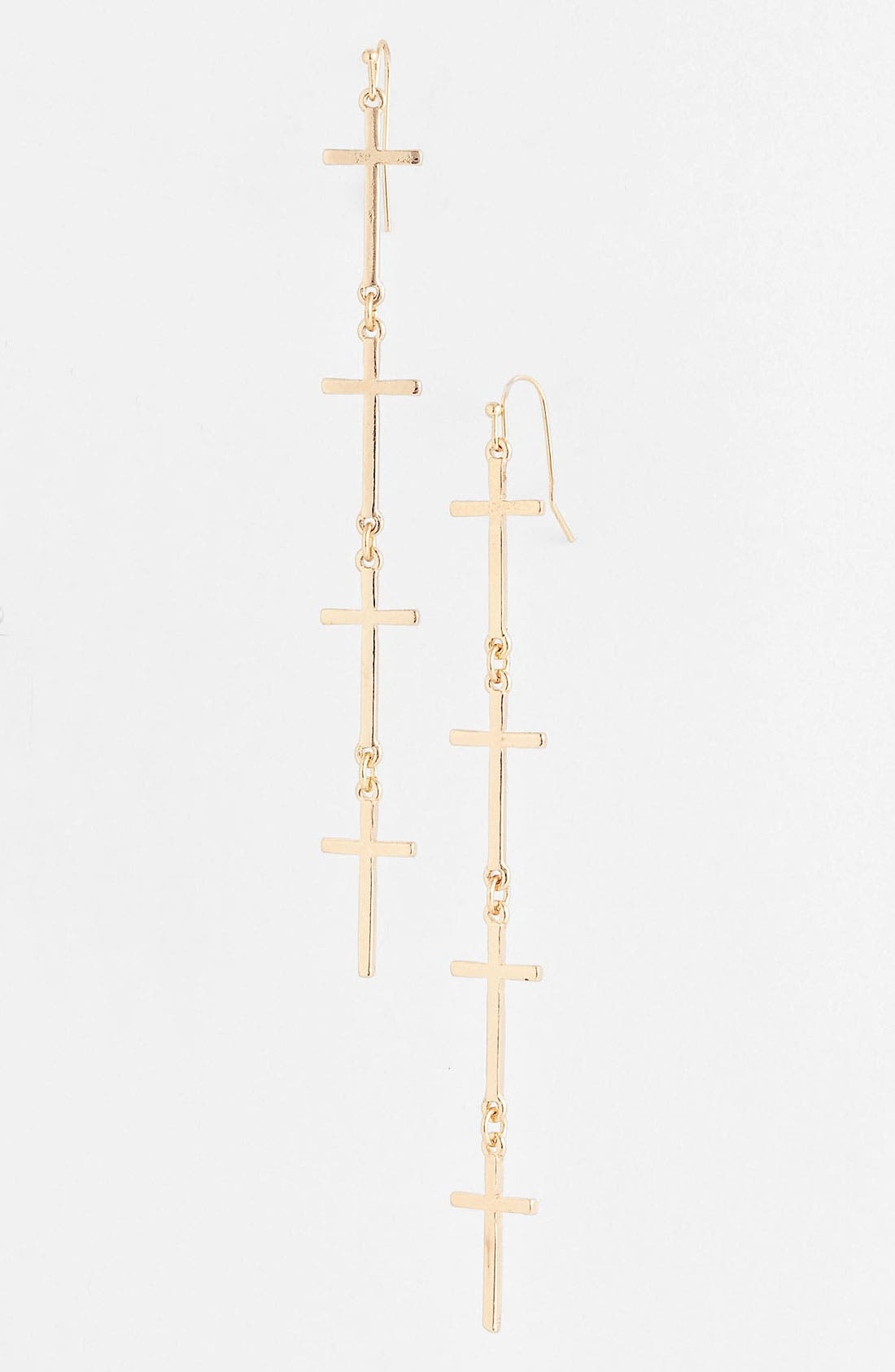 Main Image - Devan Four Cross Earrings