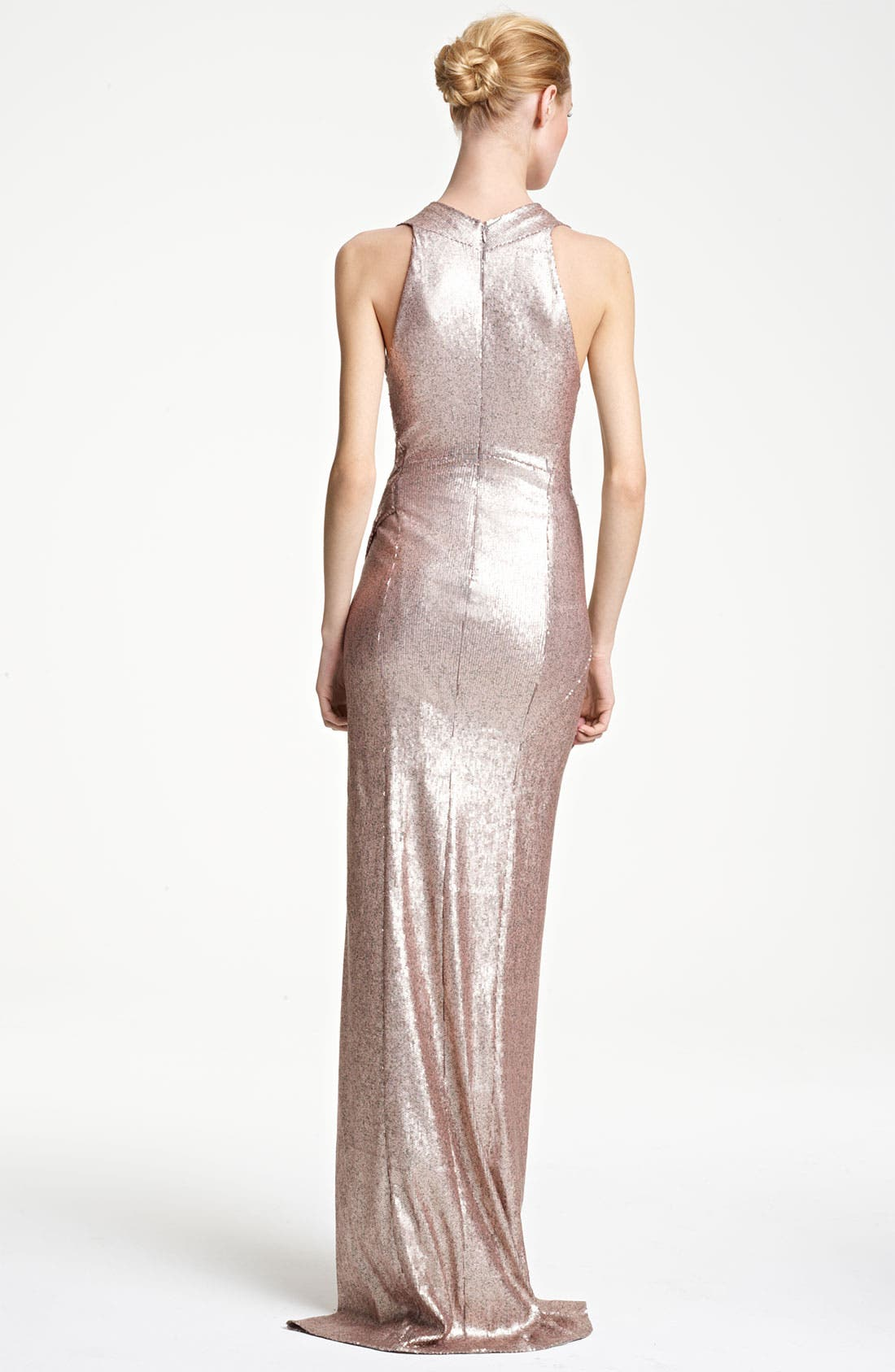 Alternate Image 2  - Donna Karan Collection Sequin Gown