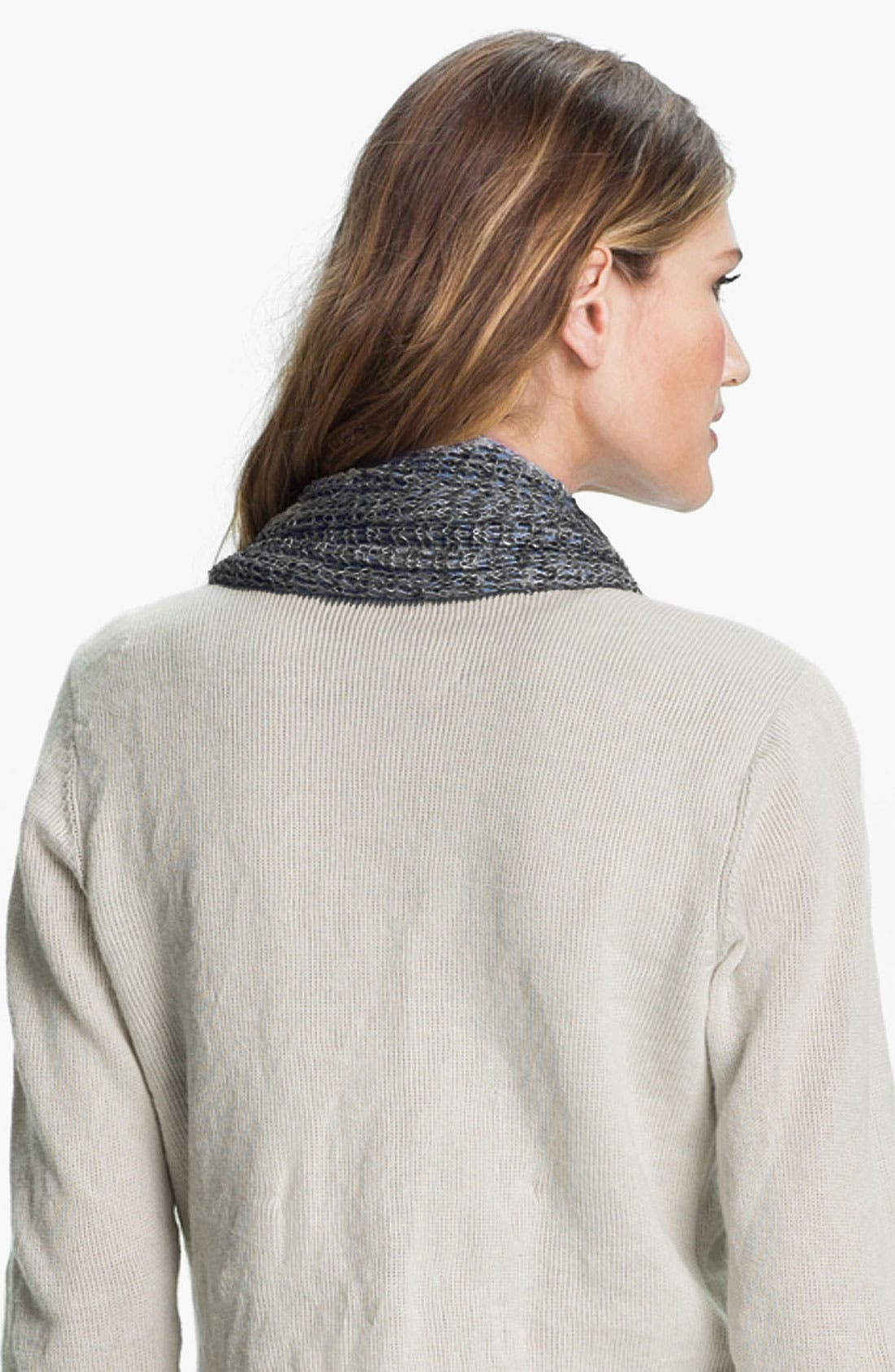 Alternate Image 2  - Eileen Fisher Linen Scarf