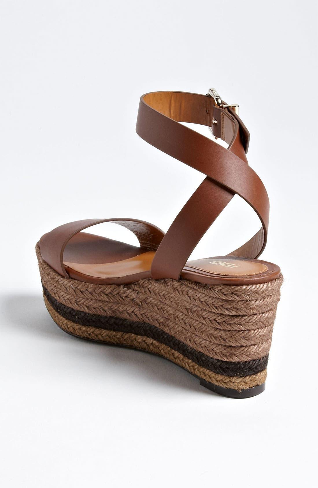 Alternate Image 2  - Fendi 'Pequin' Sandal