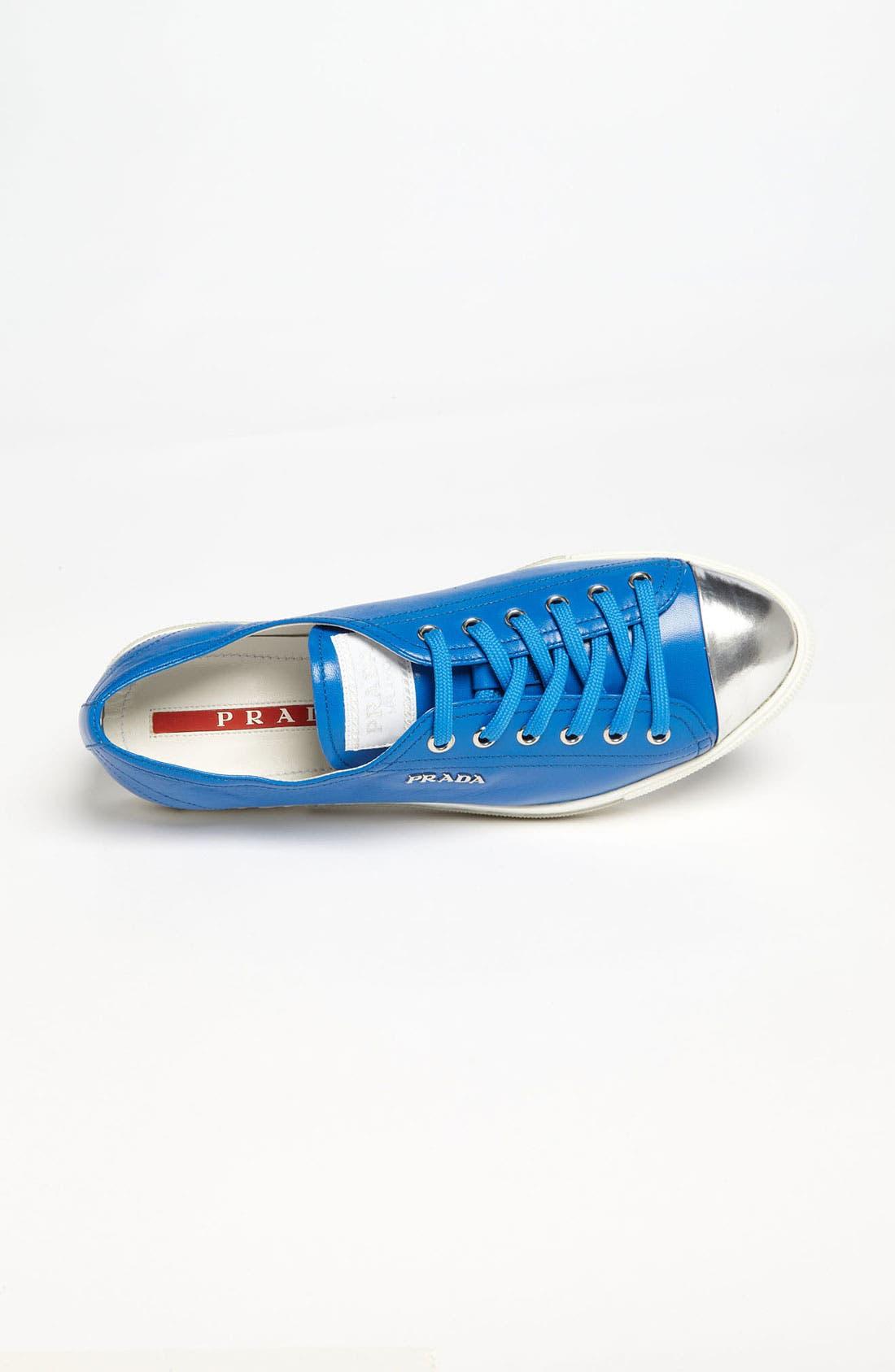Alternate Image 3  - Prada Cap Toe Sneaker