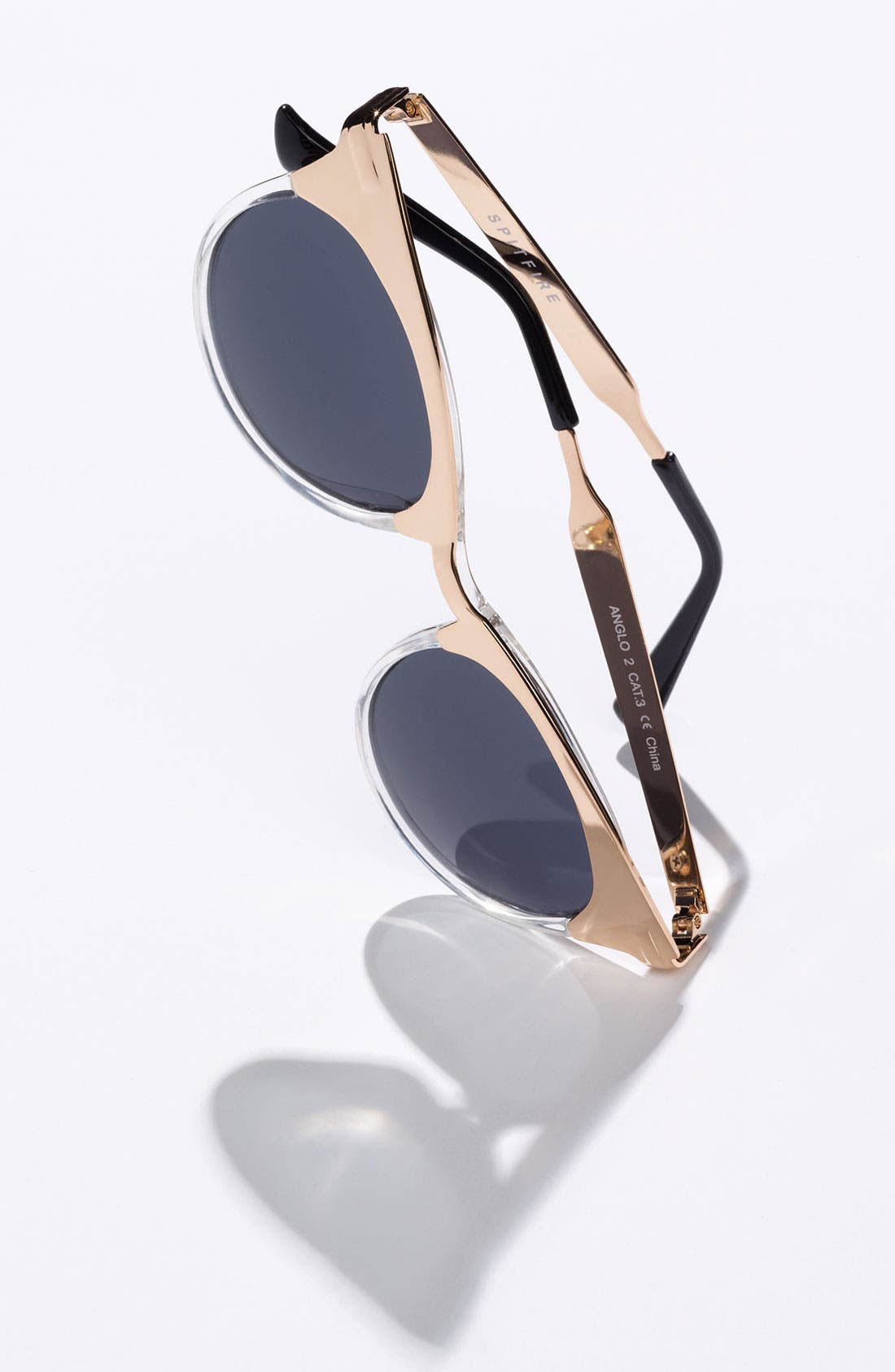 Alternate Image 2  - Spitfire 49mm Cat's Eye Sunglasses