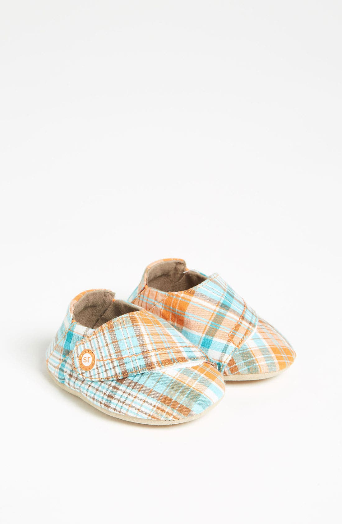 Alternate Image 1 Selected - Stride Rite 'Mad For Plaid' Crib Shoe (Baby)
