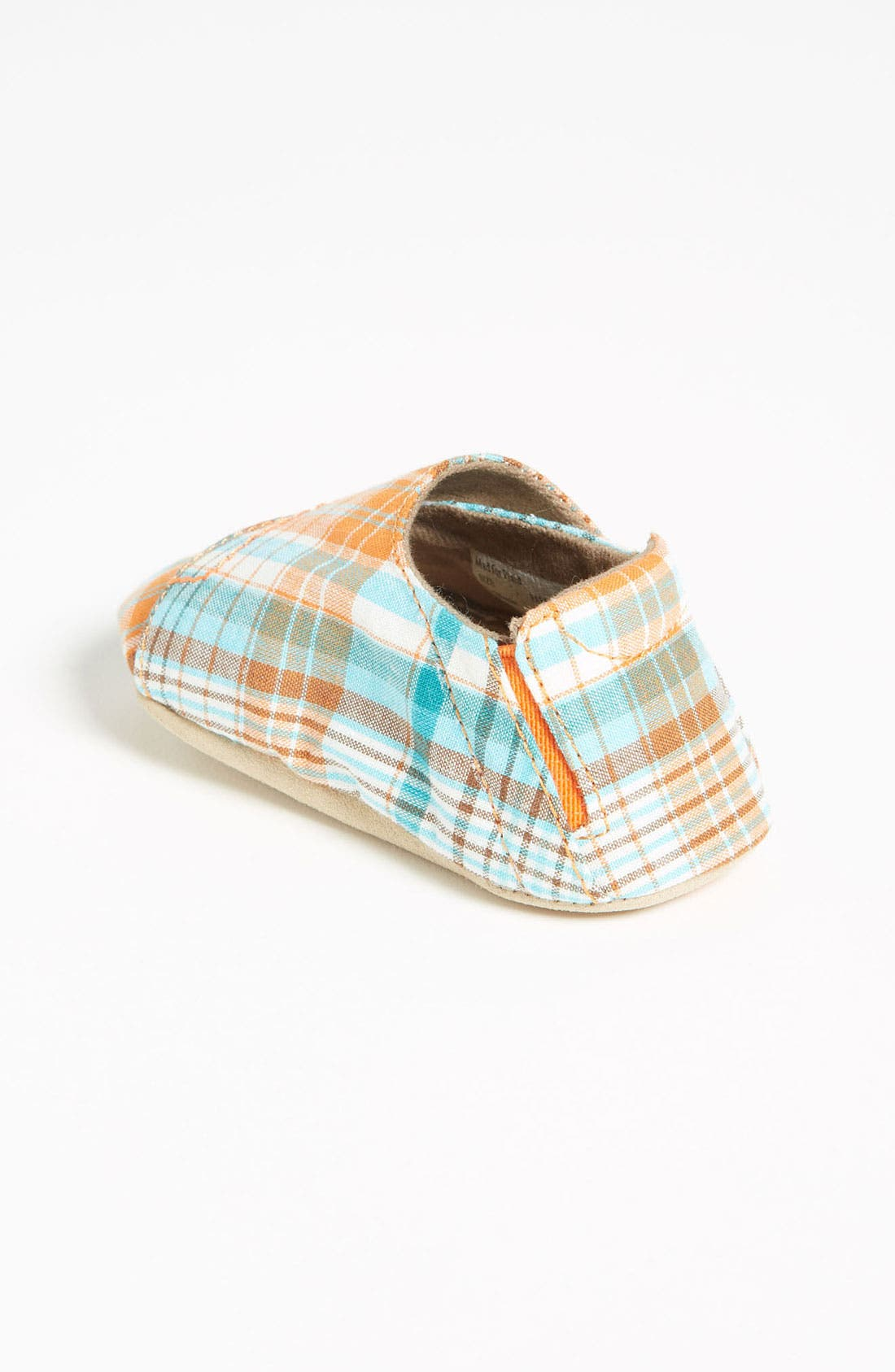 Alternate Image 2  - Stride Rite 'Mad For Plaid' Crib Shoe (Baby)