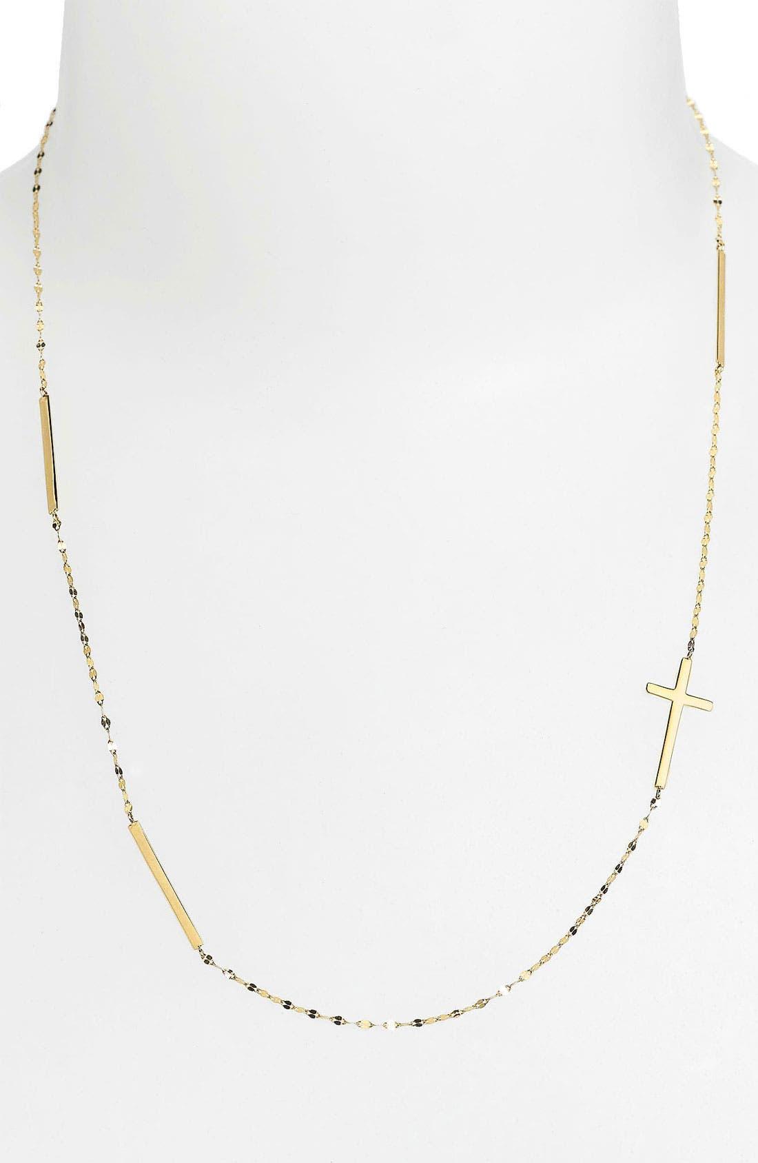 Alternate Image 2  - Lana Jewelry Bar & Cross Station Necklace