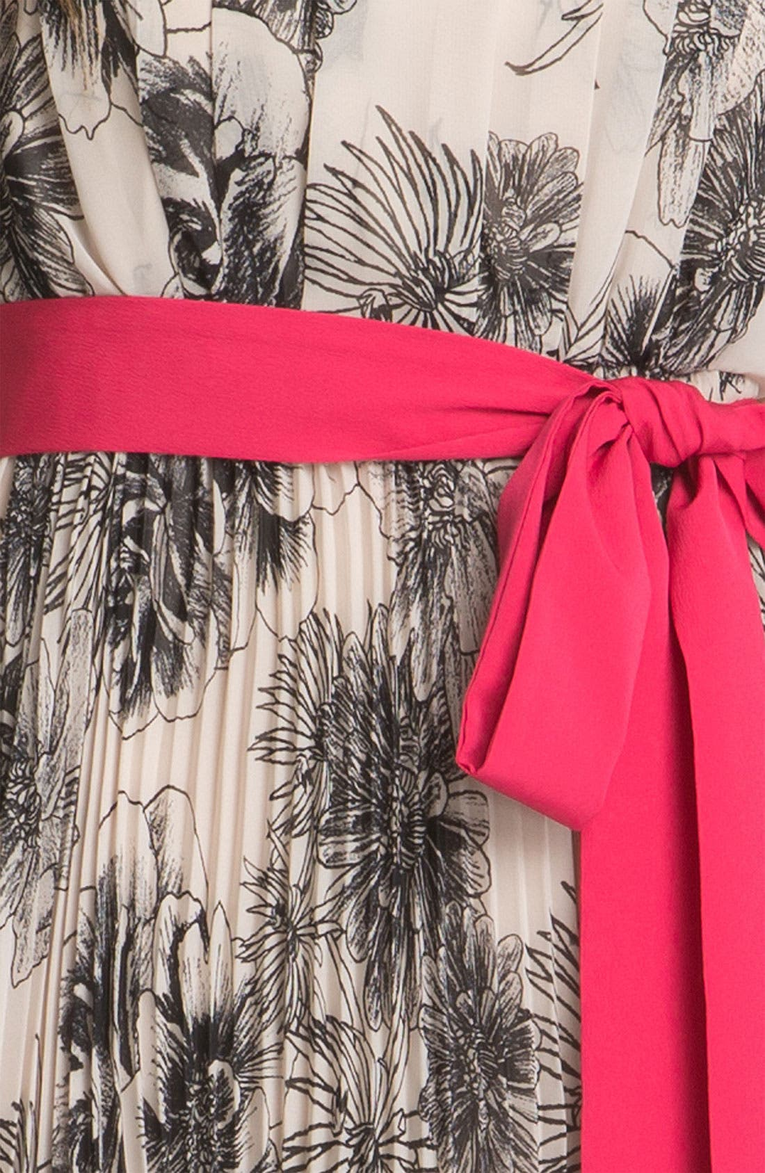 Alternate Image 3  - Eliza J Pleated Print Dress