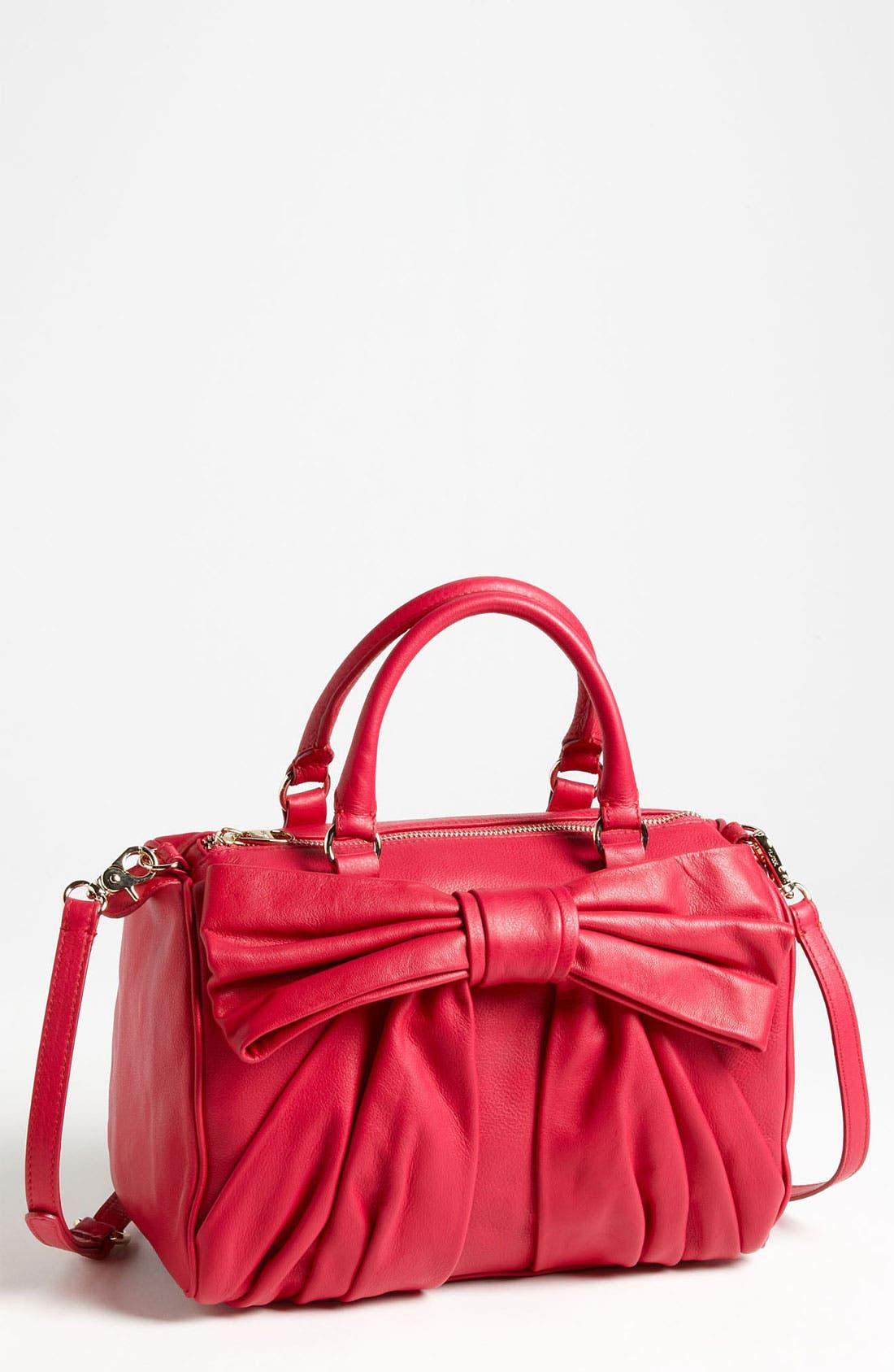 Main Image - RED Valentino 'Bow' Boston Bag