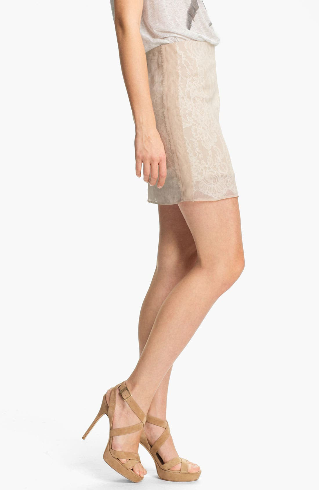 Alternate Image 3  - Haute Hippie Lace Pencil Skirt