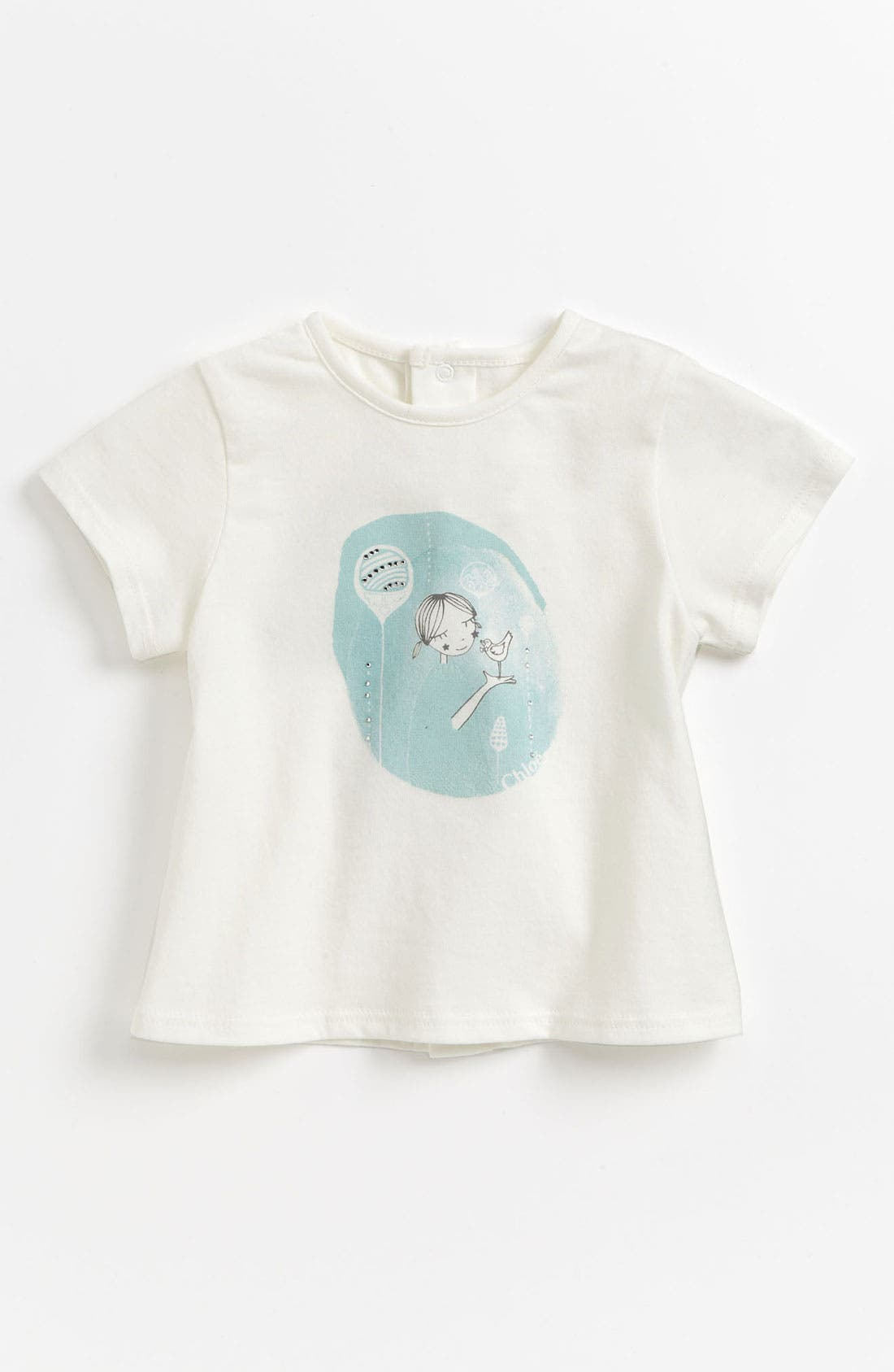 Alternate Image 1 Selected - Chloé Print Tee (Baby)