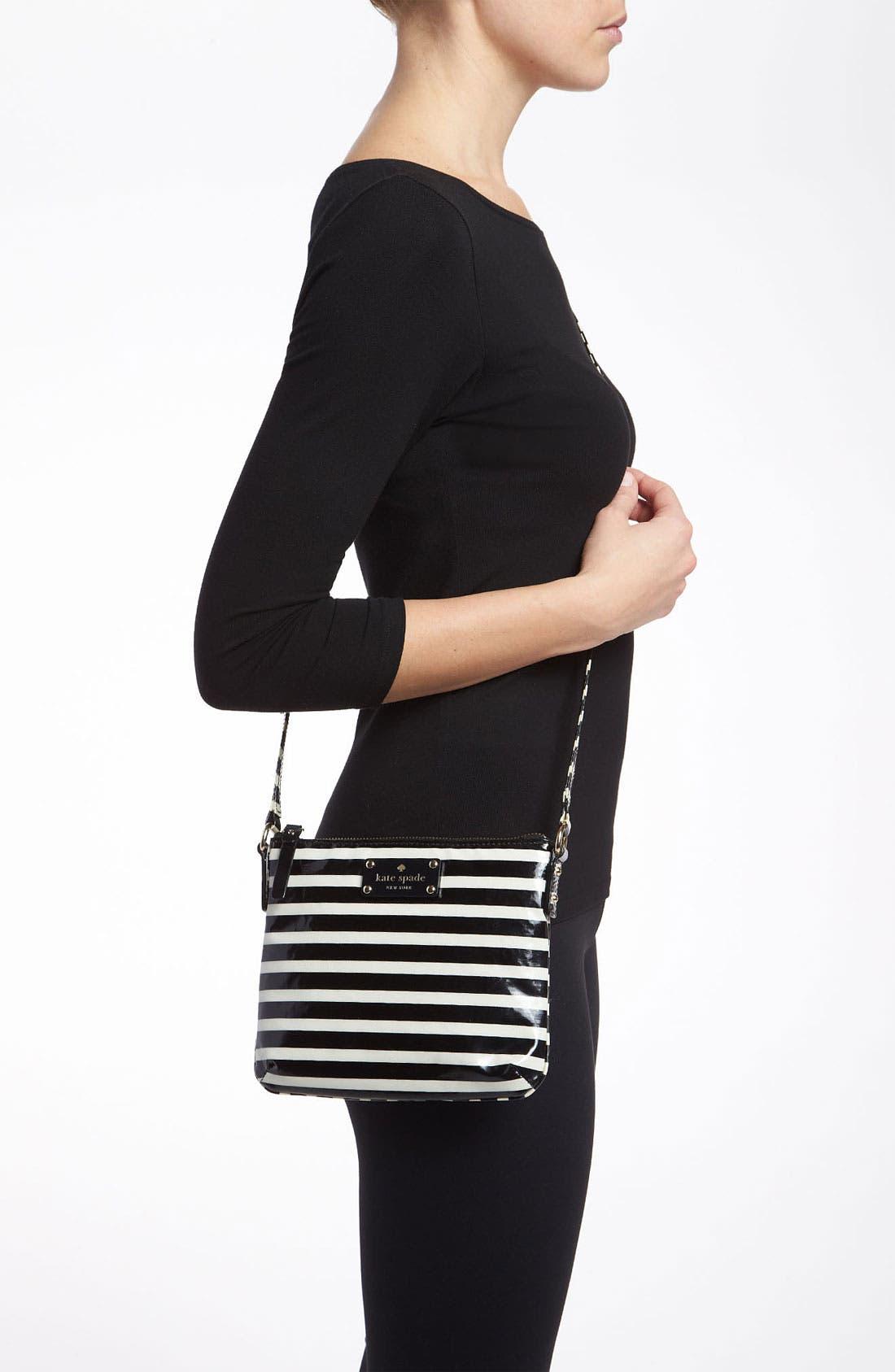 Alternate Image 2  - kate spade new york 'stripe tenley' crossbody bag
