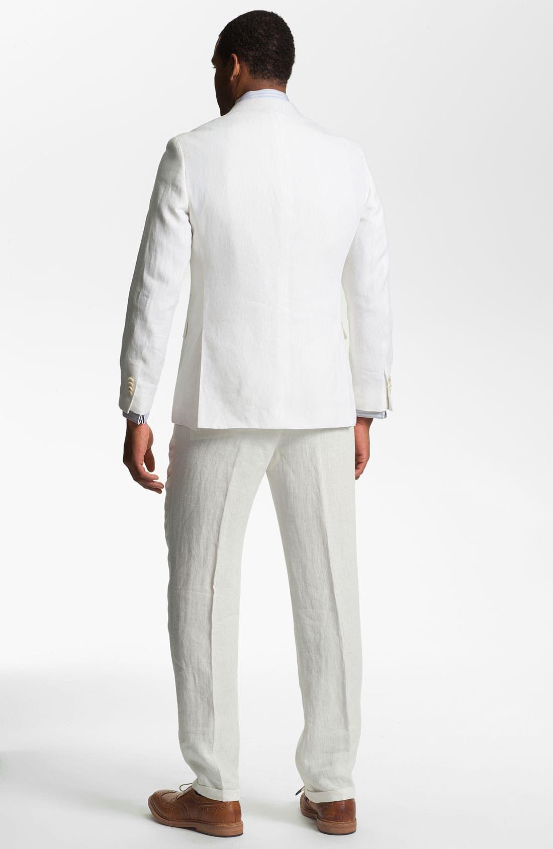 Alternate Image 5  - John W. Nordstrom® Linen Vest
