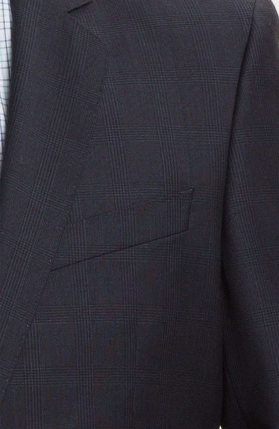Alternate Image 6  - BOSS HUGO BOSS 'Ryan/Win' Extra Trim Fit Suit