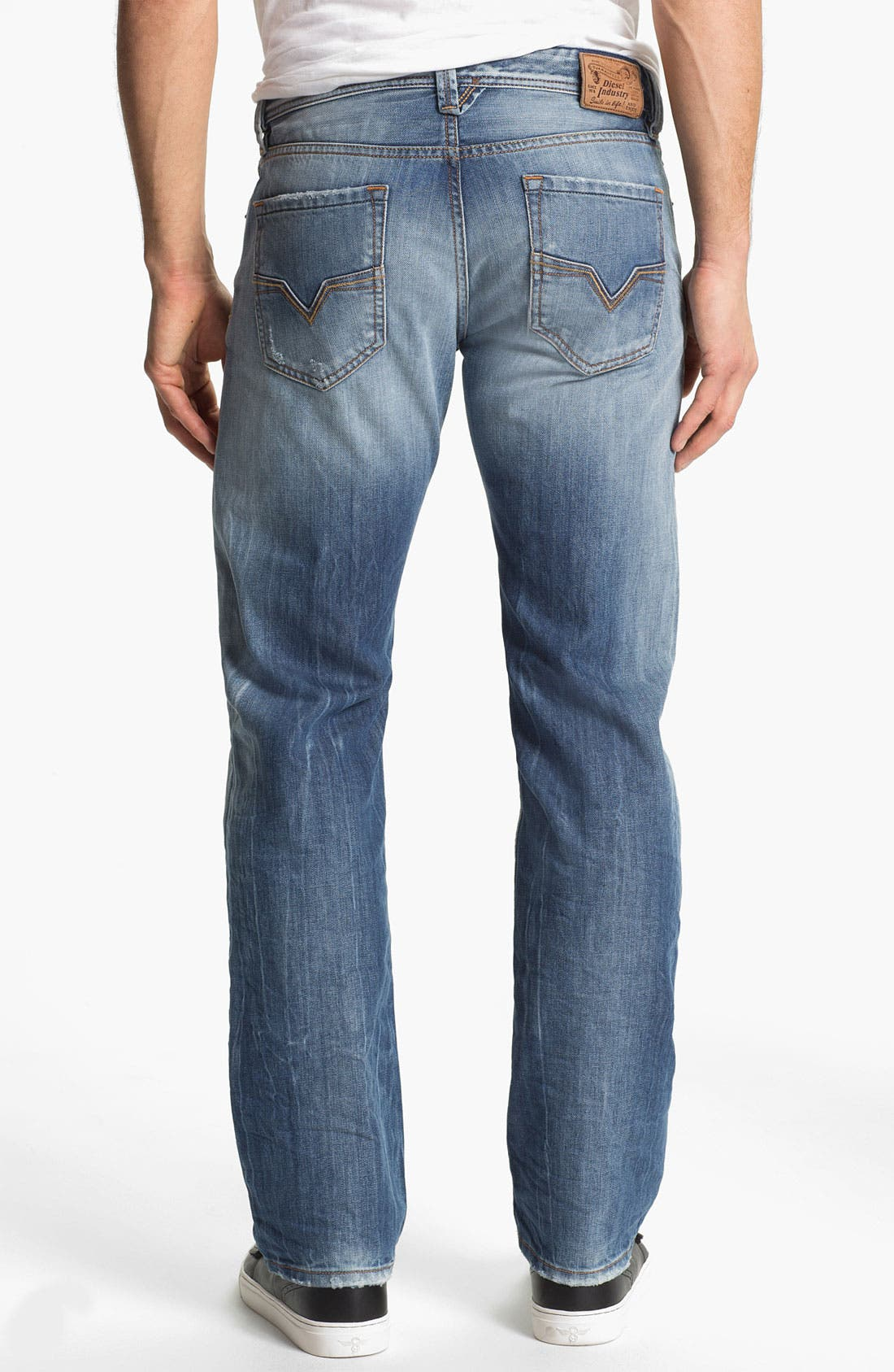 Alternate Image 1 Selected - DIESEL® 'Larkee' Straight Leg Jeans (0810N)