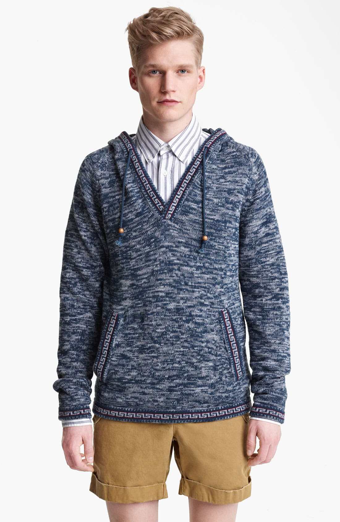 Alternate Image 1 Selected - Gant by Michael Bastian Peruvian Knit Hoodie