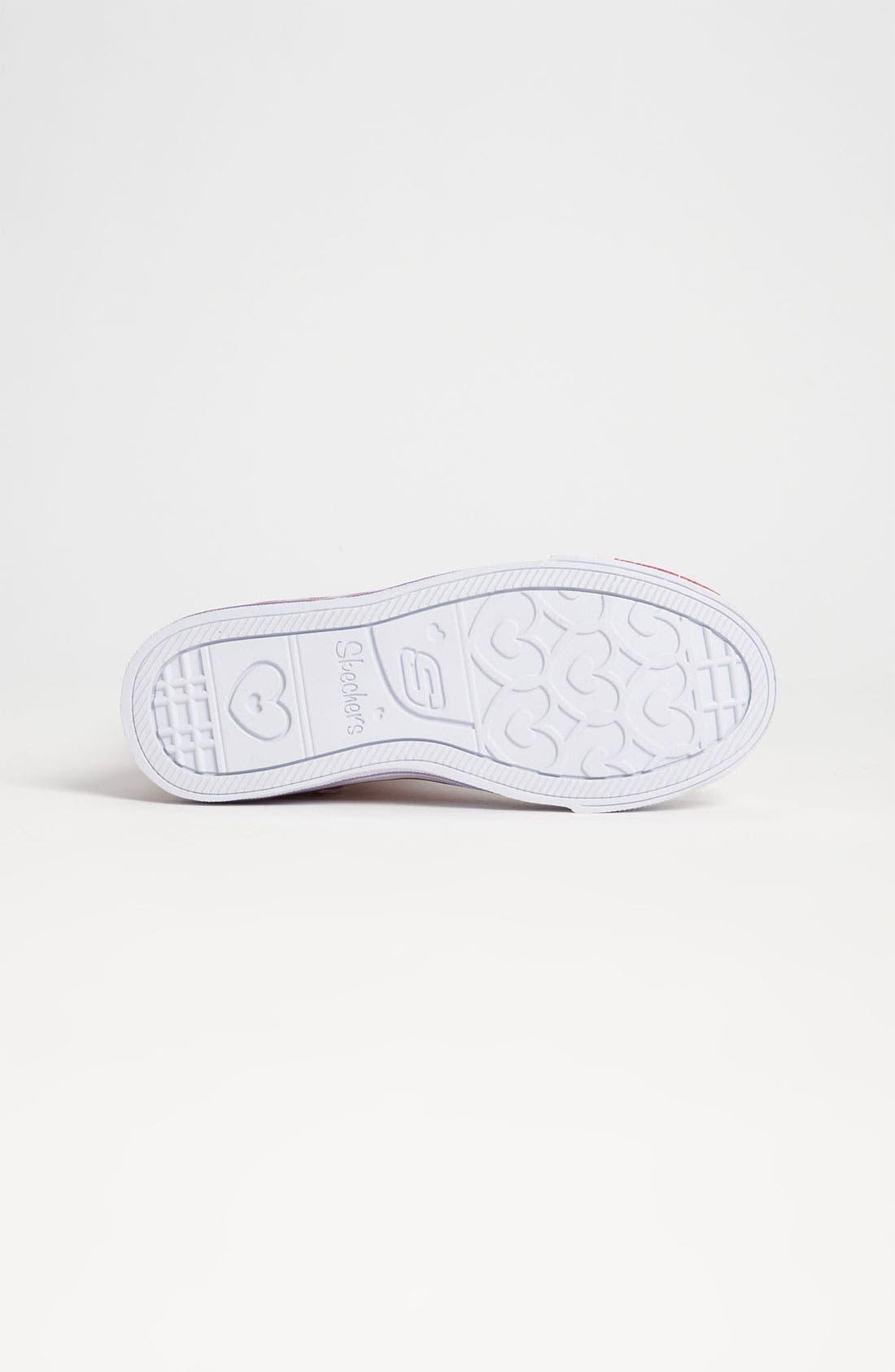 Alternate Image 4  - SKECHERS 'Twinkle Toes - Shuffles Mellow Me' Sneaker (Toddler & Little Kid)