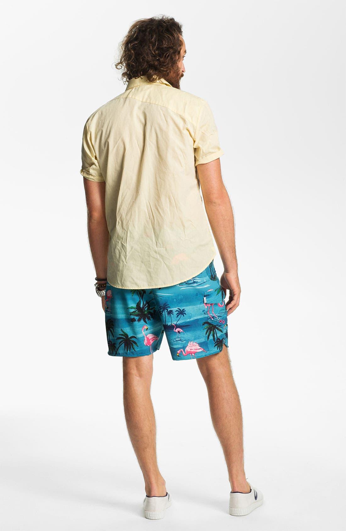 Alternate Image 5  - Volcom 'Why Factor' Woven Shirt