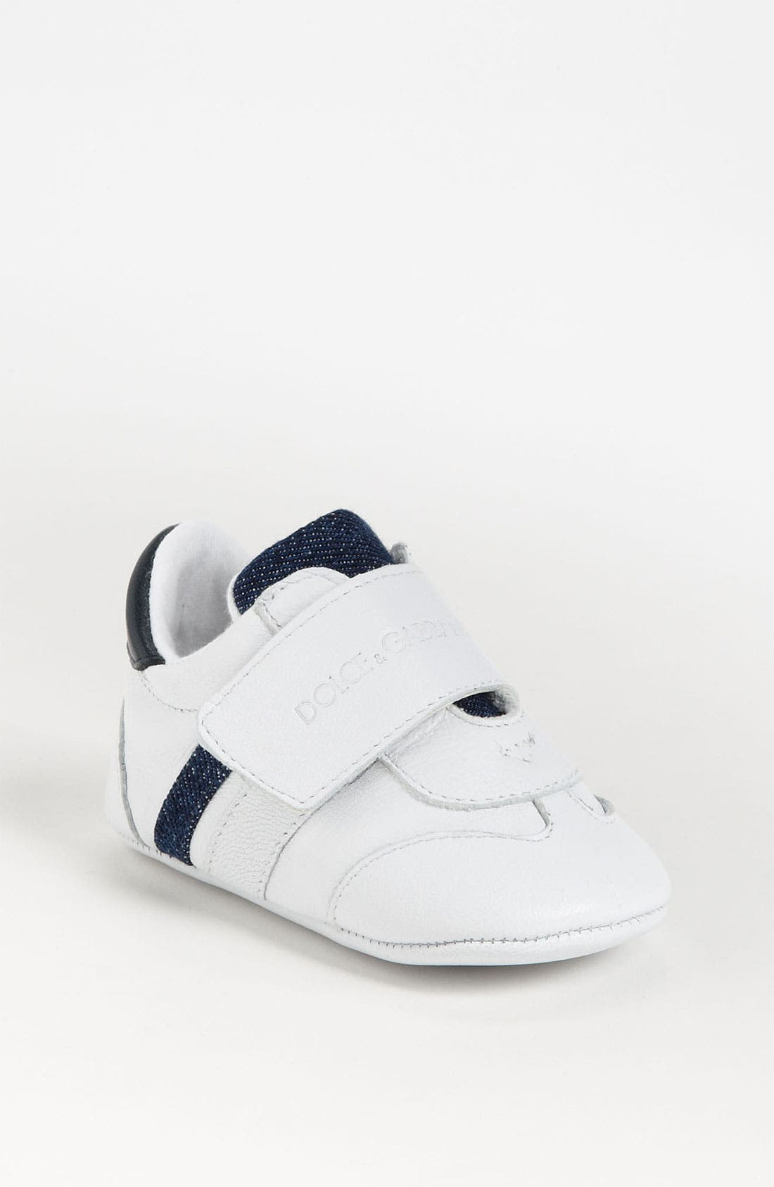 Main Image - Dolce&Gabbana Crib Shoe (Baby, Walker)