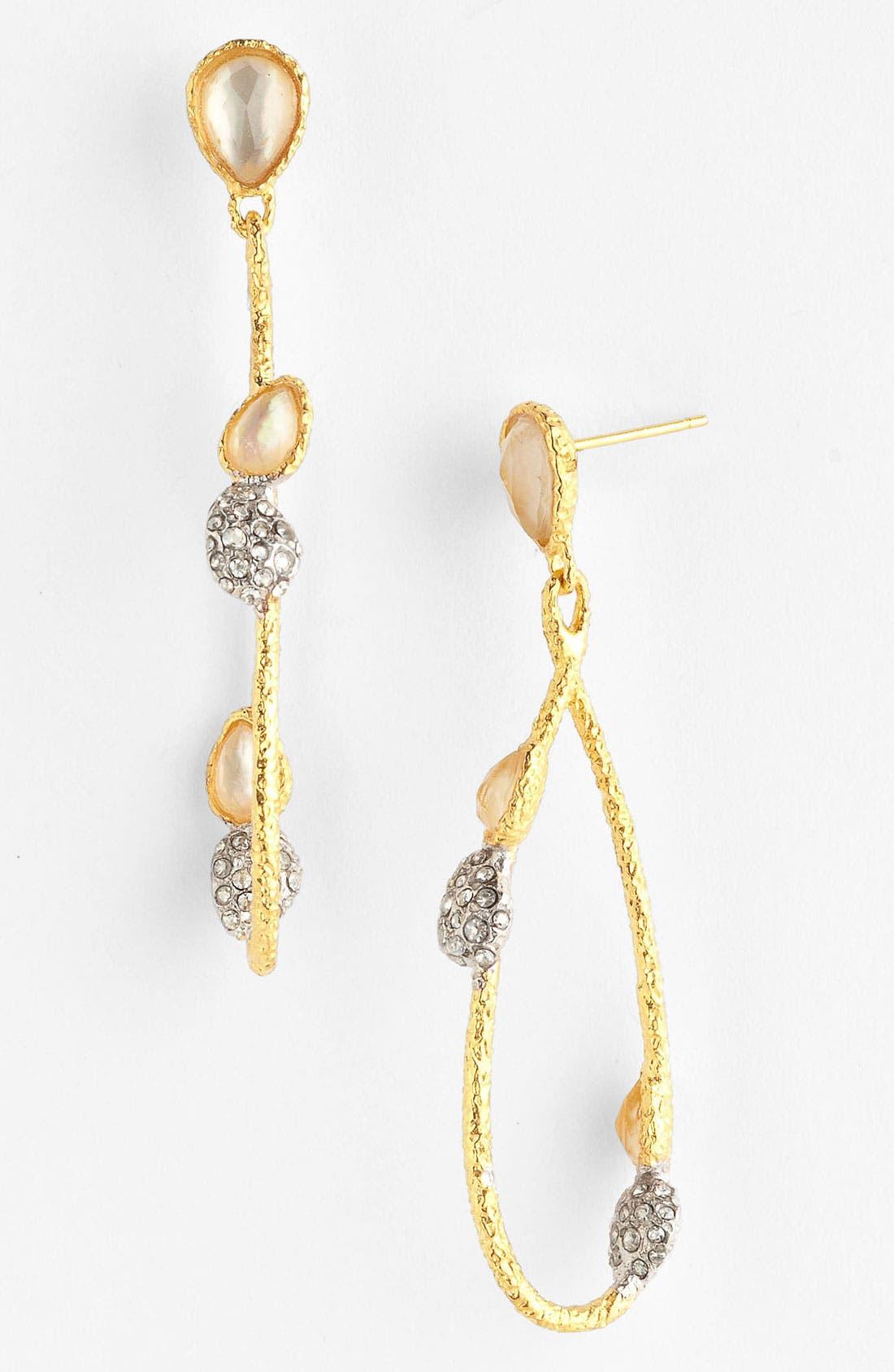Alternate Image 1 Selected - Alexis Bittar 'Elements - Floral' Vine Teardrop Earrings