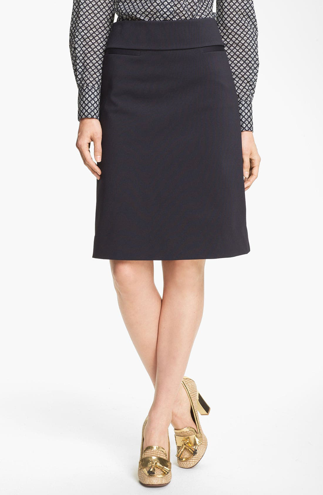 Alternate Image 1 Selected - Tory Burch 'Isabella' Skirt