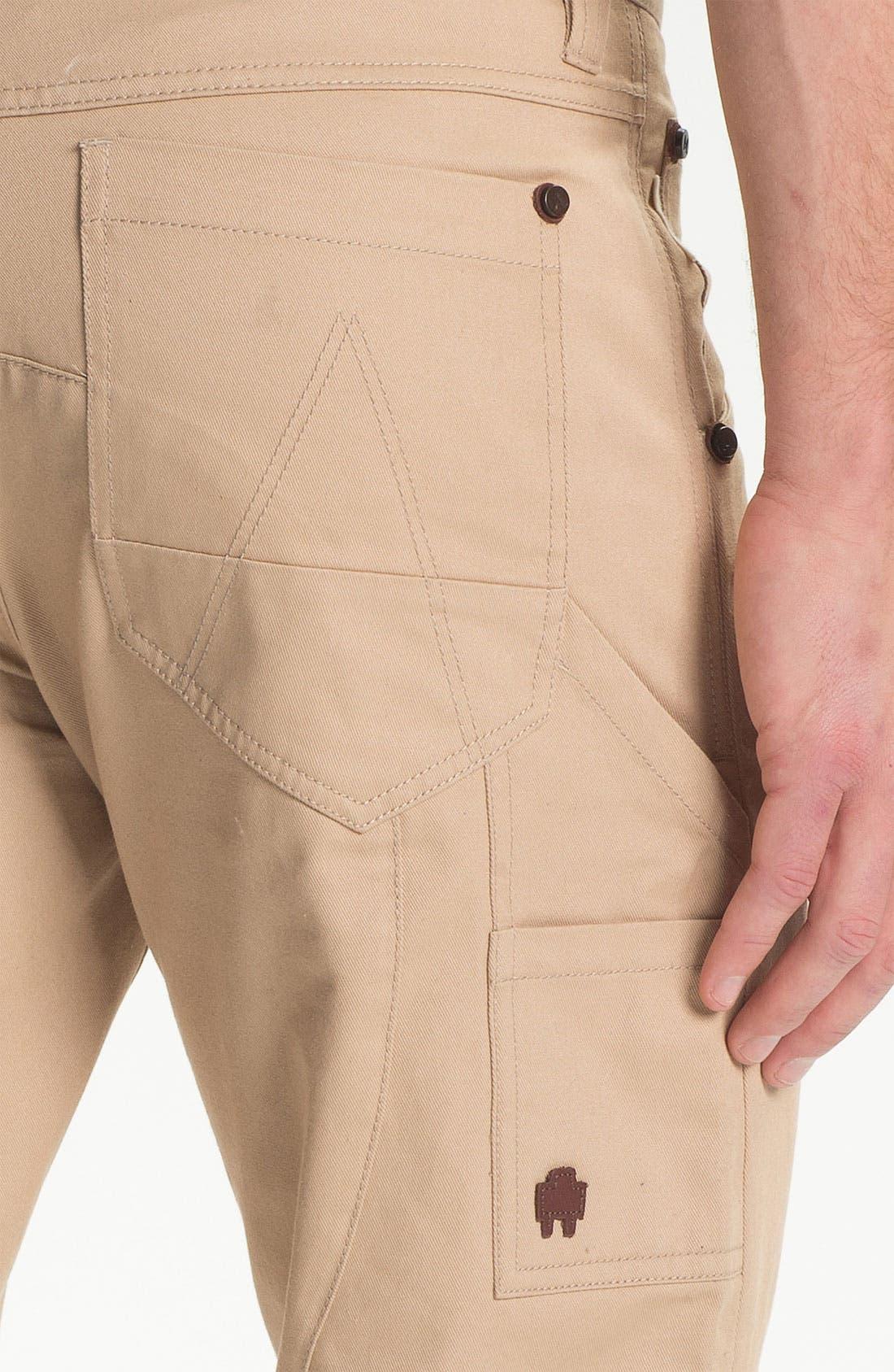 Alternate Image 3  - Marshall Artist Cotton Twill Workshop Pants